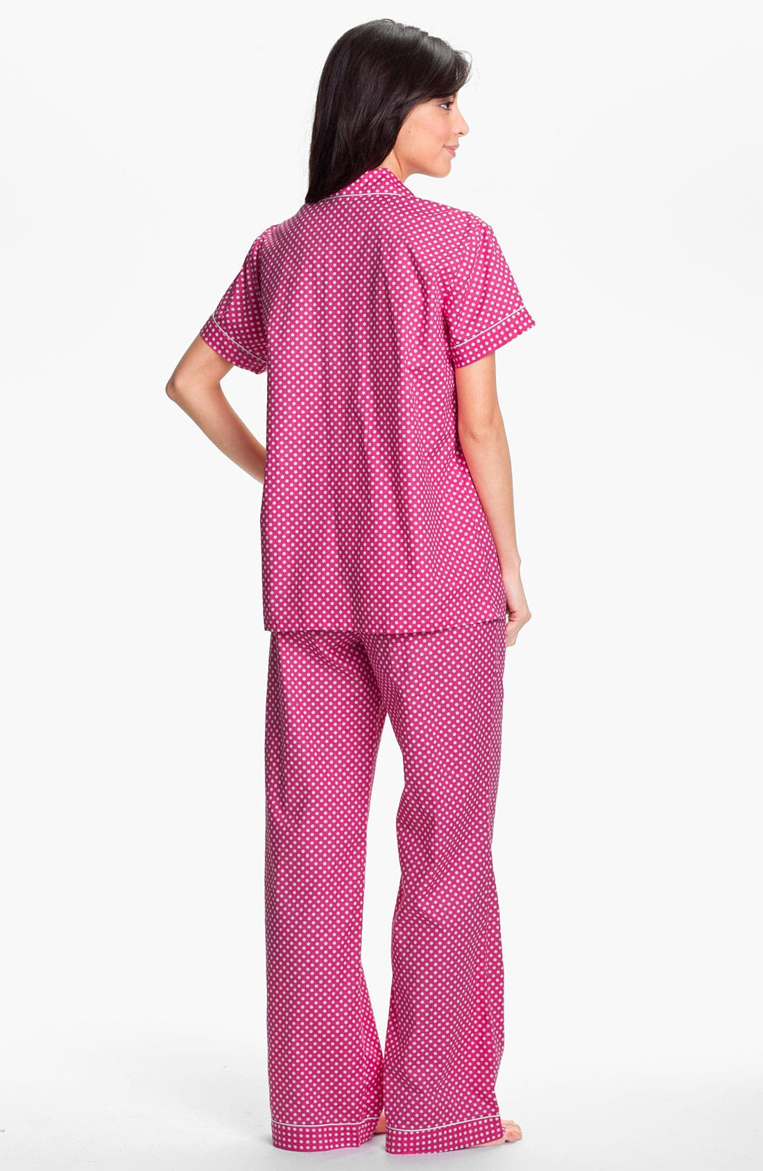 Alternate Image 2  - Nordstrom Poplin Pajamas