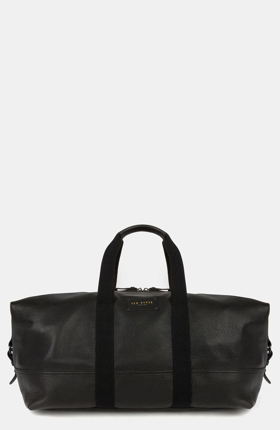 Main Image - Ted Baker London Leather Duffel Bag