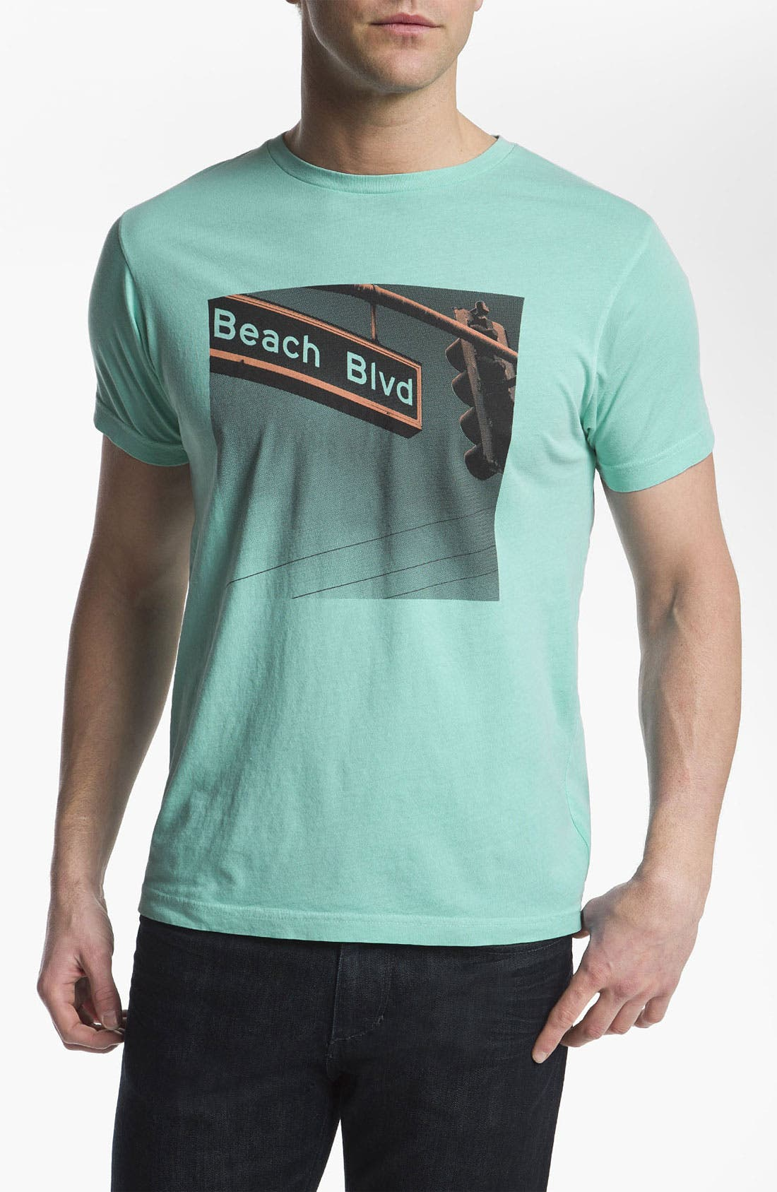 Alternate Image 1 Selected - Warriors of Radness 'Beach Blvd' T-Shirt