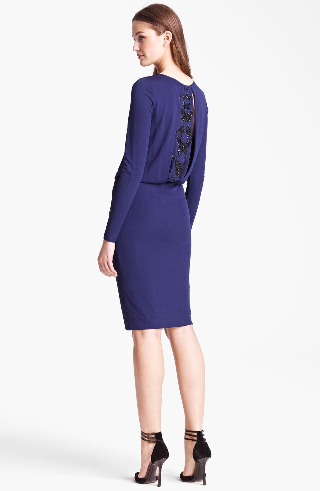 Alternate Image 2  - Emilio Pucci Embellished Jersey Dress