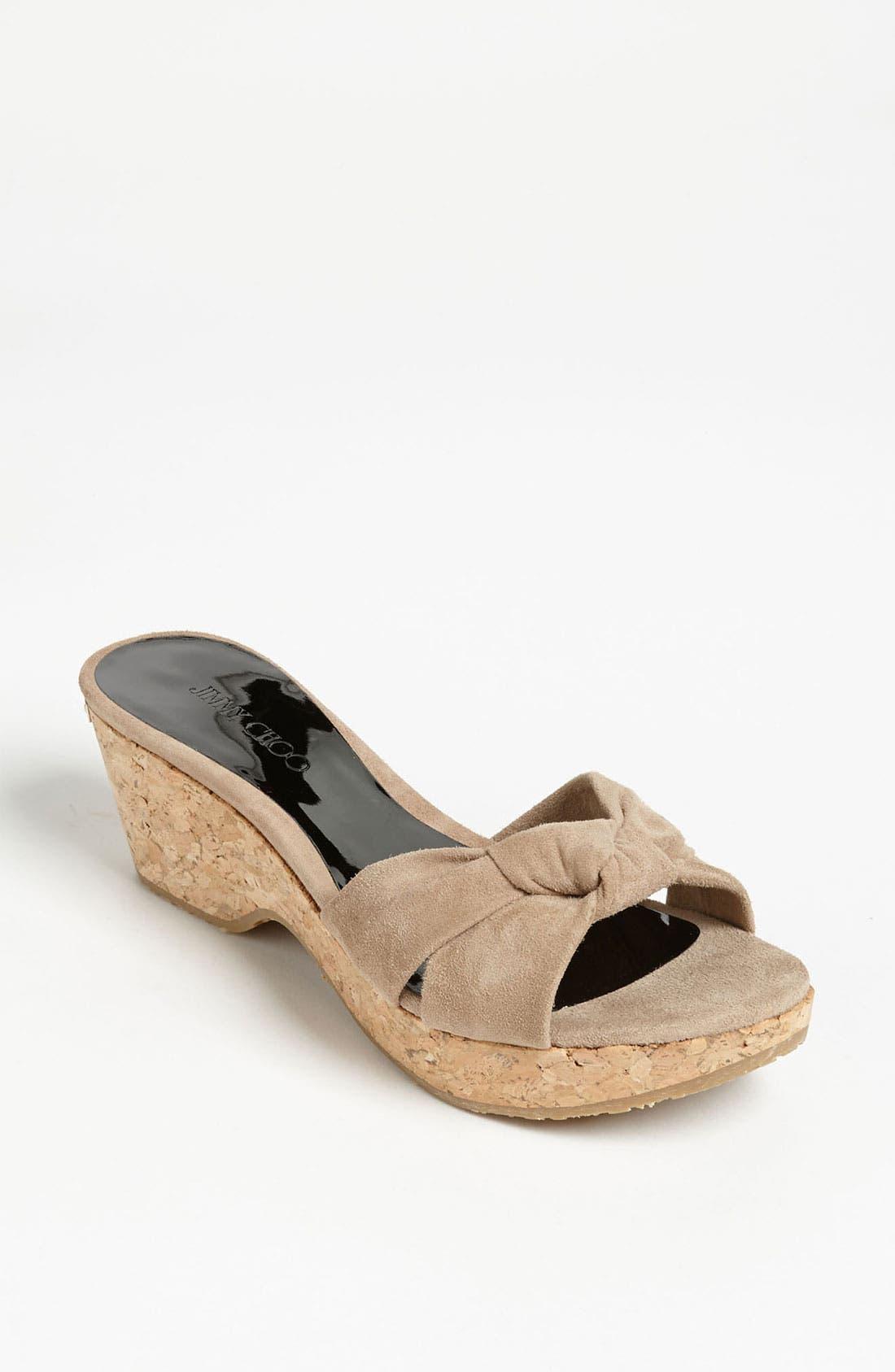 Main Image - Jimmy Choo 'Glace' Slide Sandal
