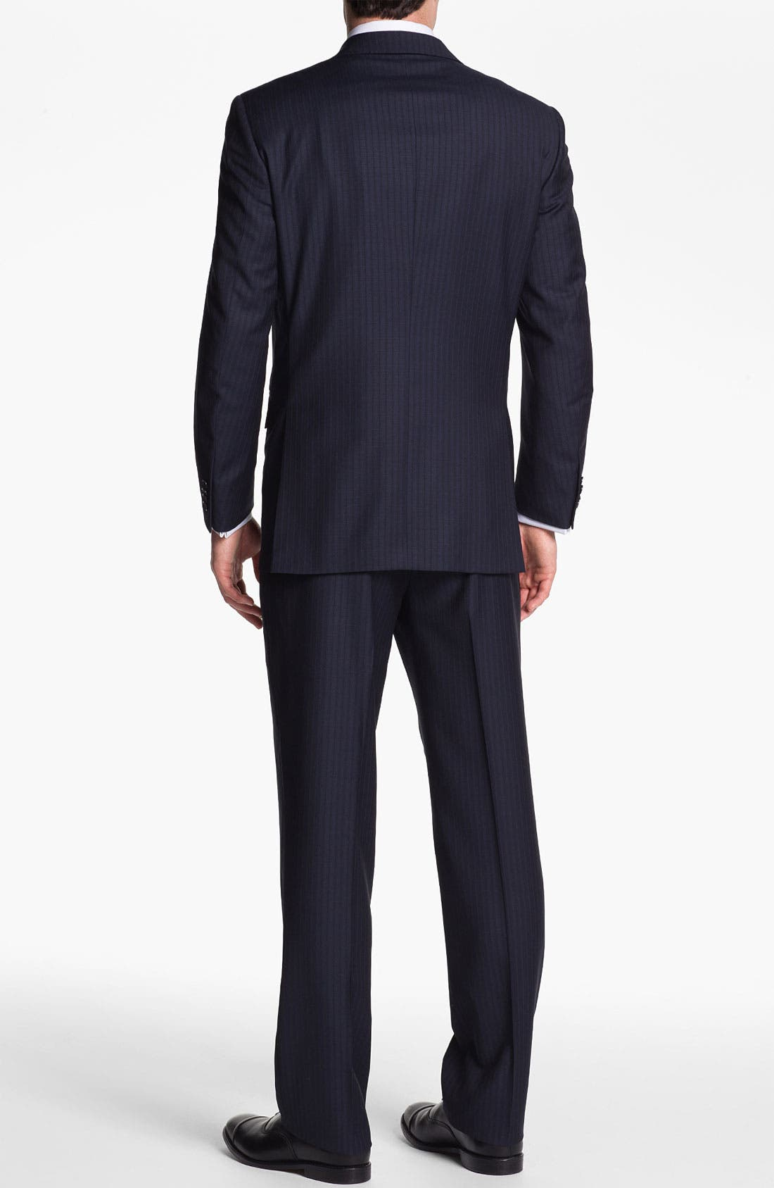 Alternate Image 3  - Peter Millar Stripe Wool Suit