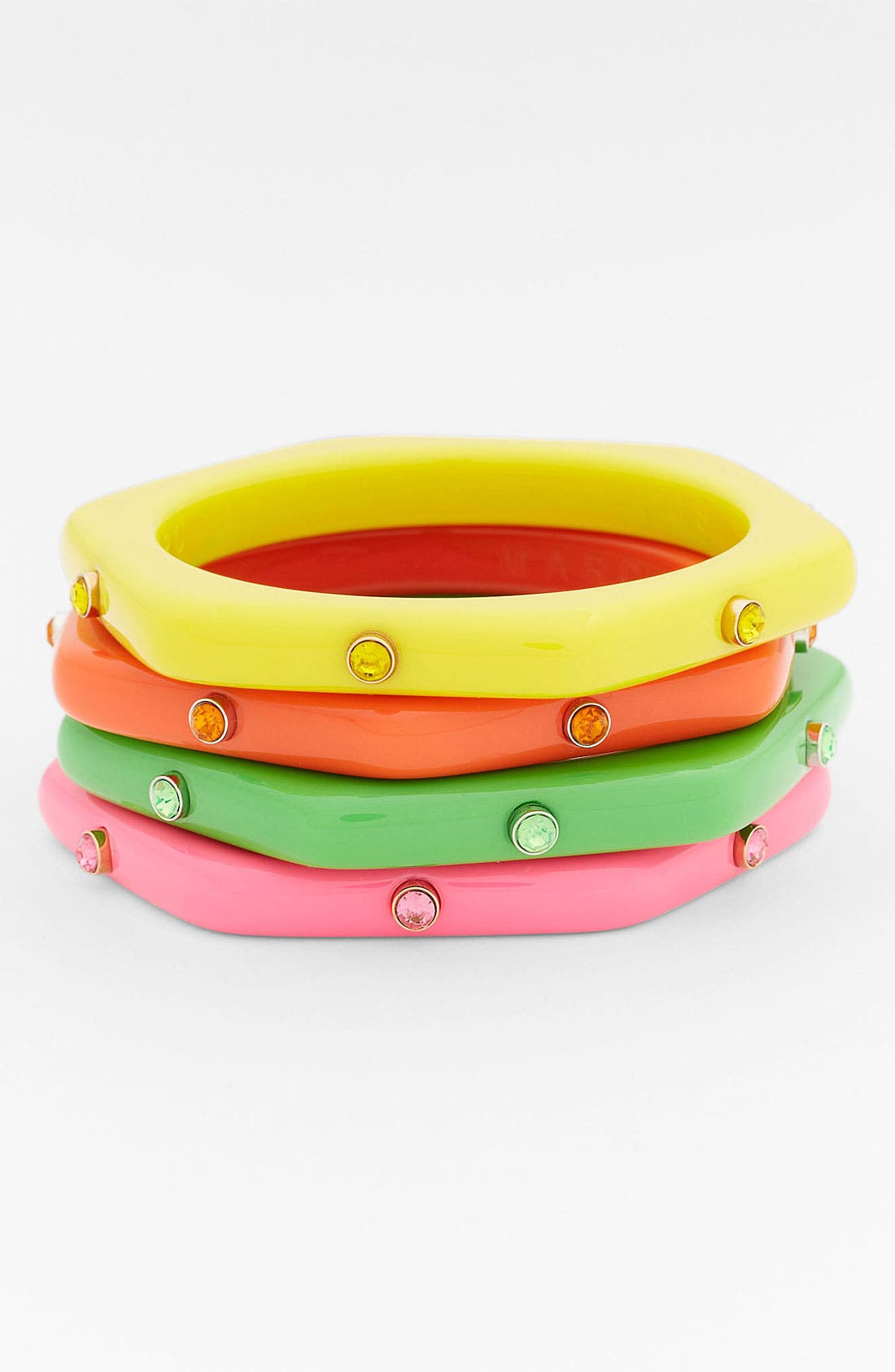 Main Image - MARC BY MARC JACOBS 'Puffy' Studded Bangle