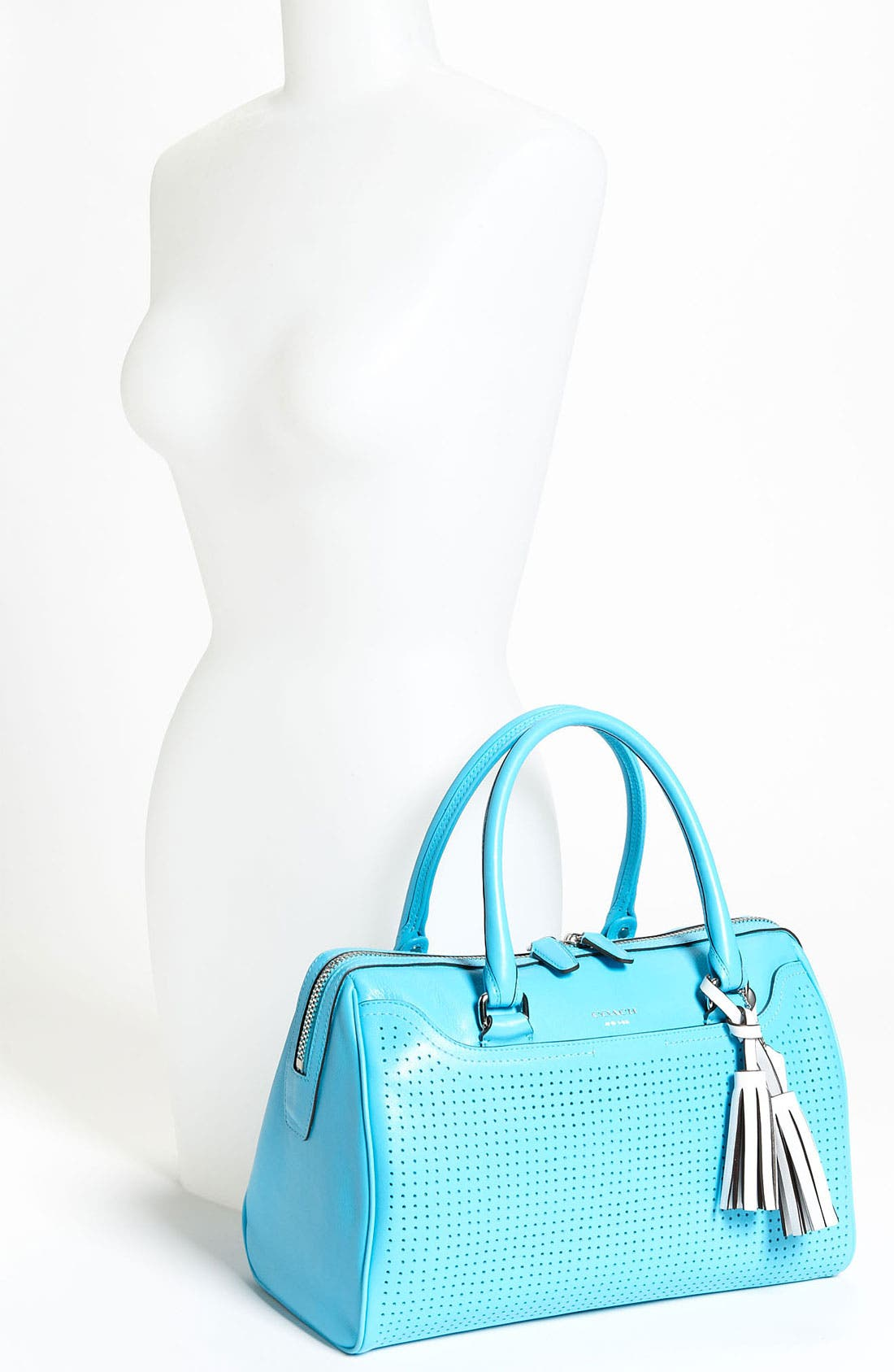 Alternate Image 2  - COACH 'Legacy - Haley' Perforated Leather Satchel