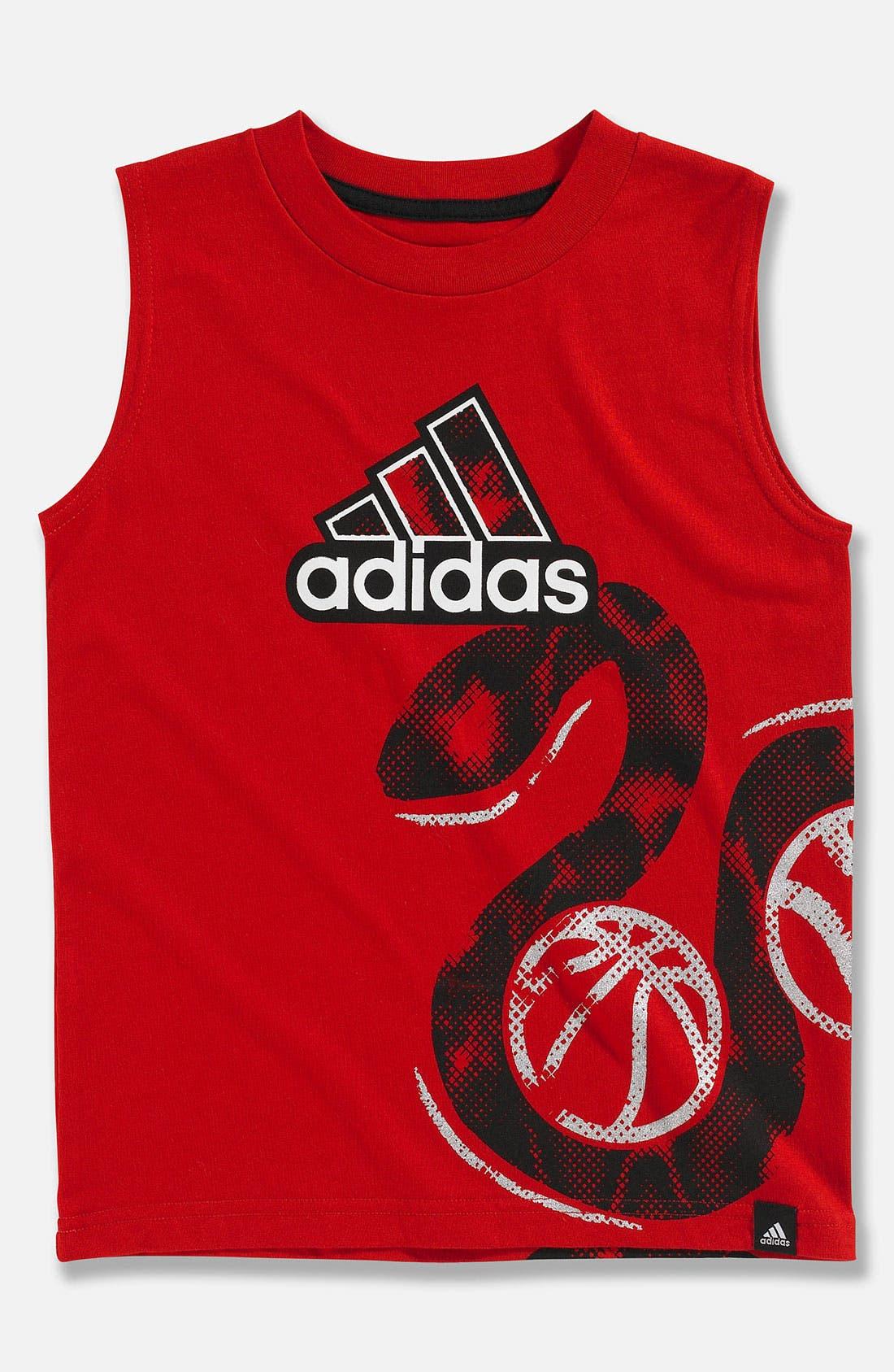 Alternate Image 1 Selected - adidas 'Big Baller' Tank Top (Little Boys)