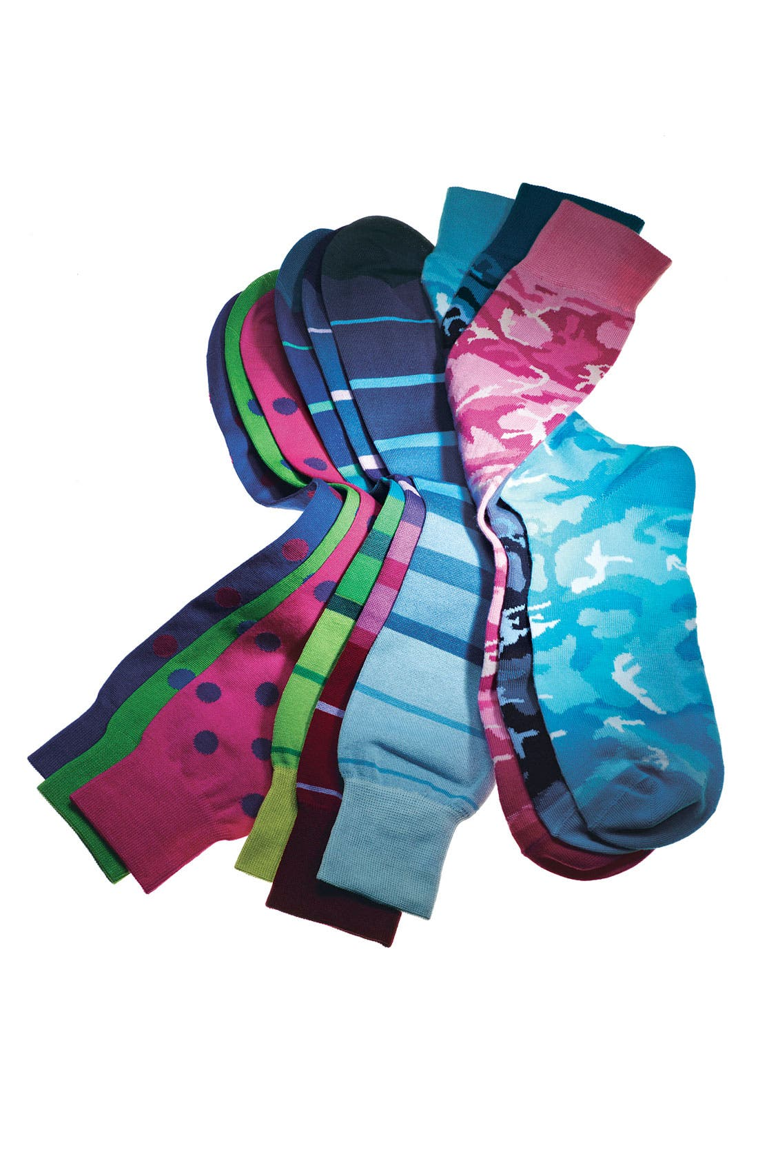 Alternate Image 3  - Lorenzo Uomo Camouflage Socks (Men)