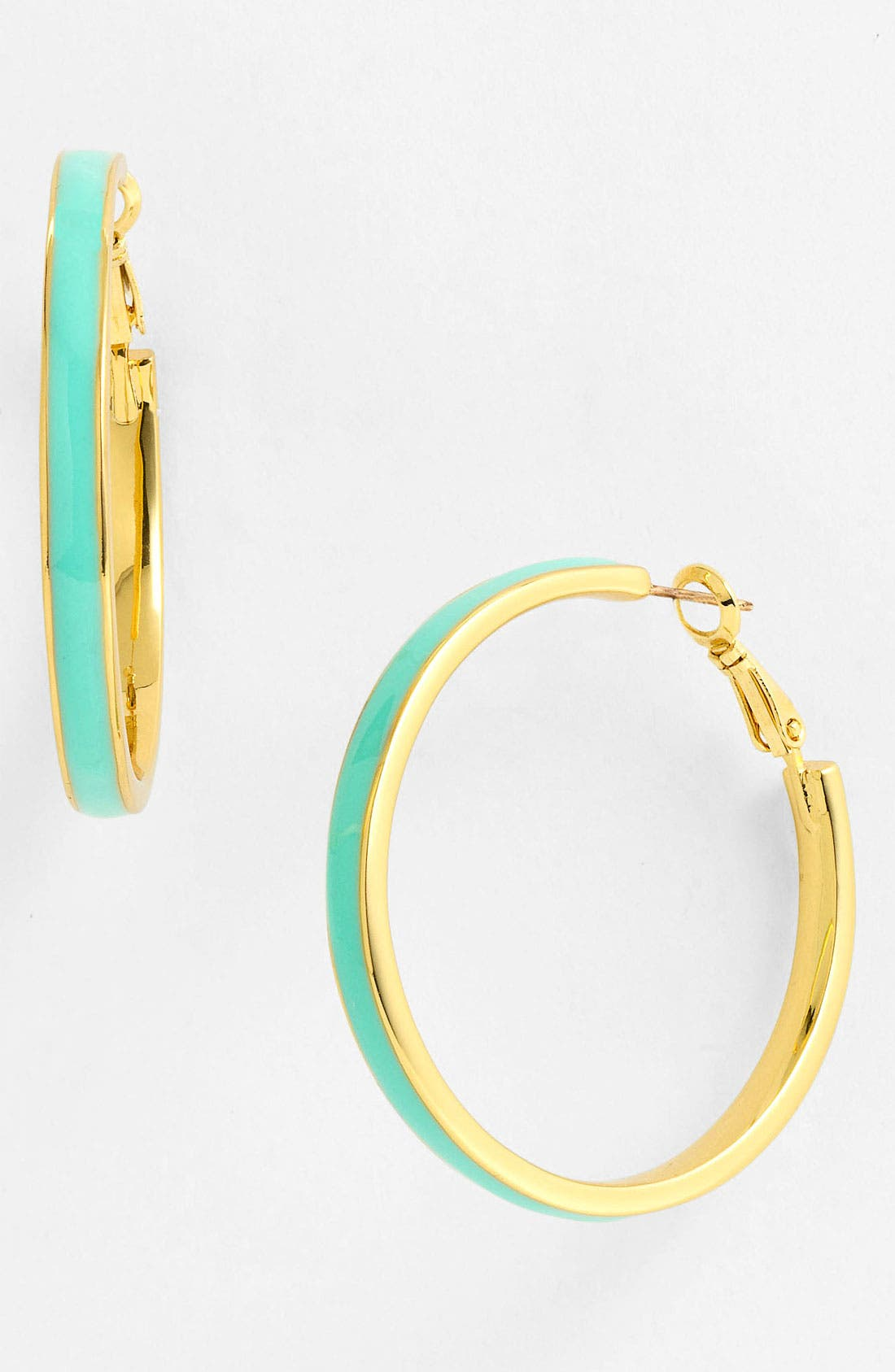 Alternate Image 1 Selected - kate spade new york 'bar none' hoop earrings
