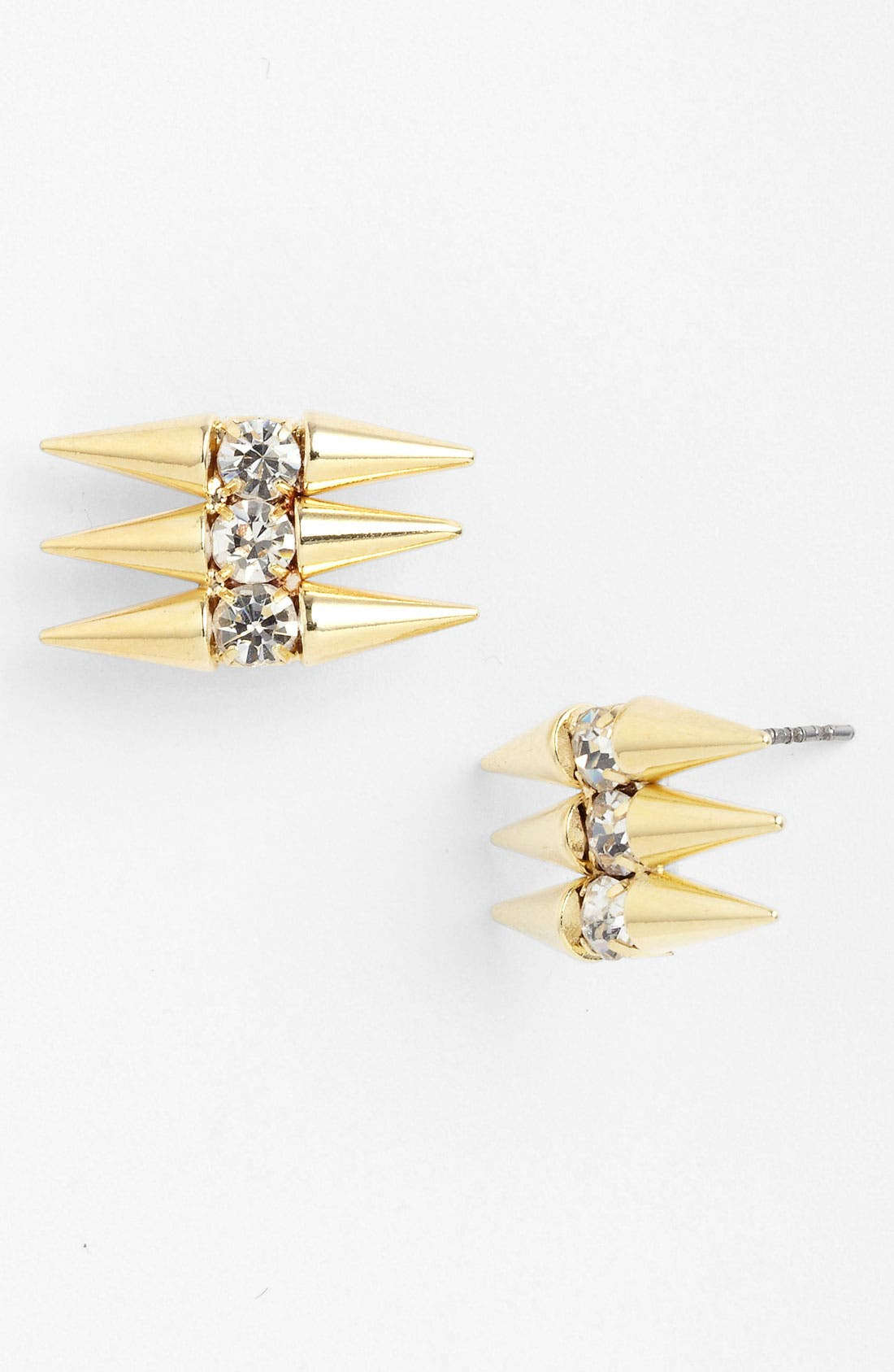 Alternate Image 1 Selected - Panacea 'Crystal Spike' Stud Earrings