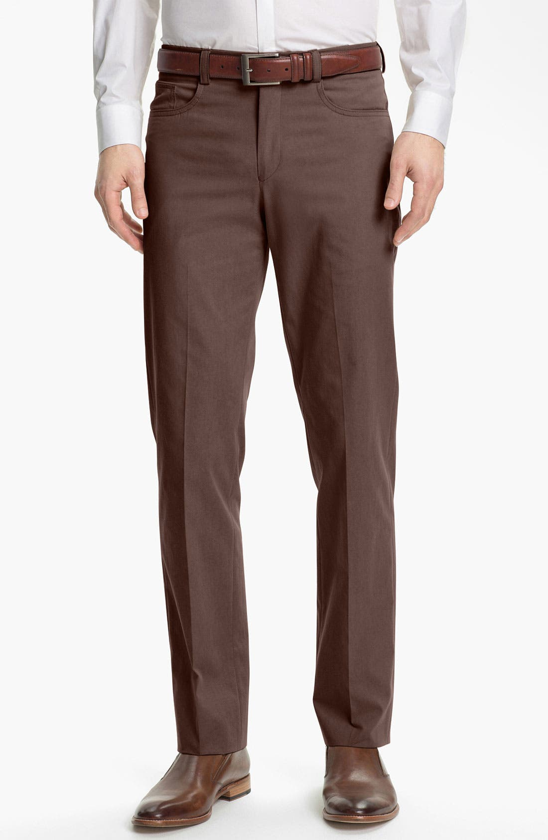 Alternate Image 1 Selected - John Varvatos Star USA Five Pocket Trousers