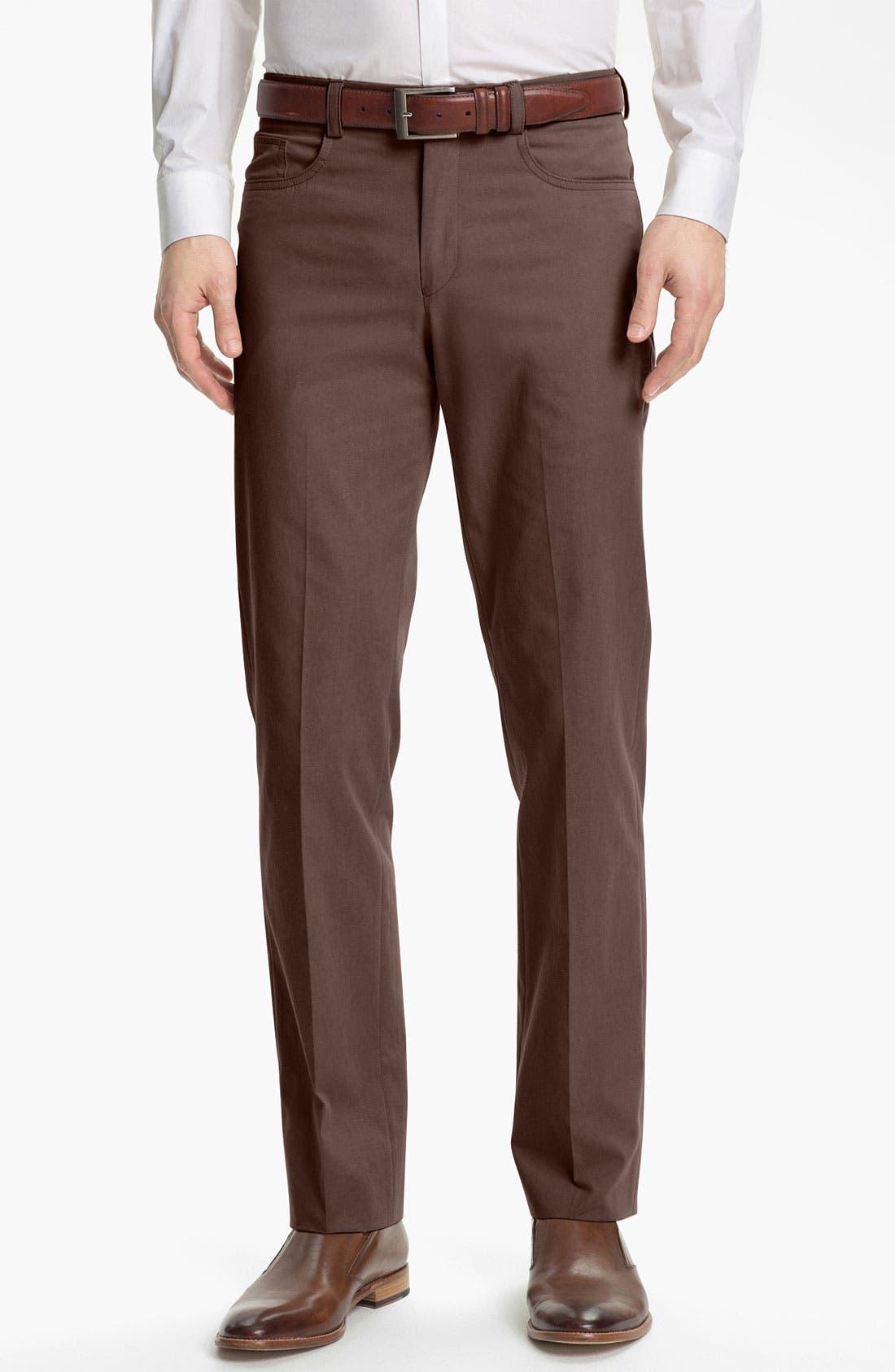 Main Image - John Varvatos Star USA Five Pocket Trousers