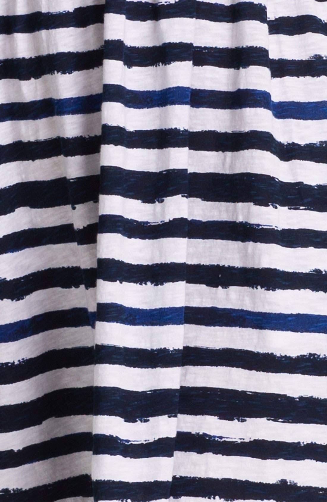 Alternate Image 3  - Caslon Mix Stripe Knit Dress