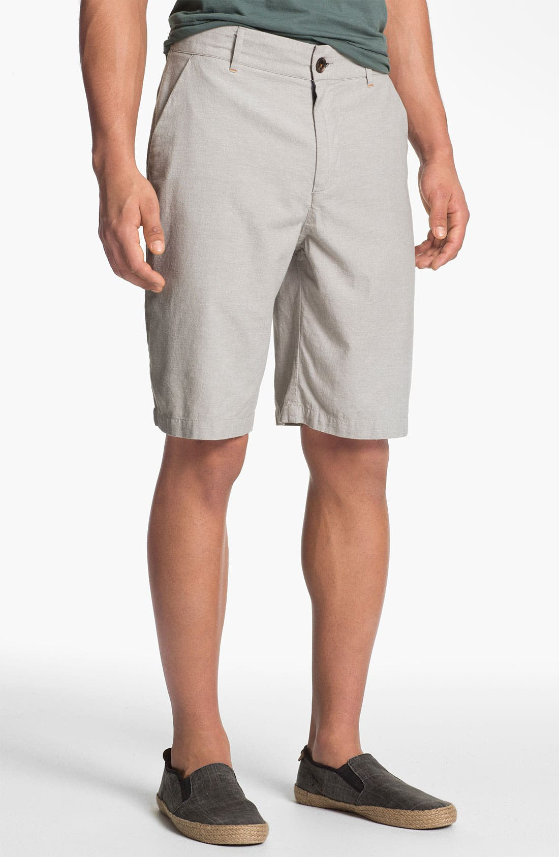 Alternate Image 1 Selected - W.R.K 'Gibson' Flat Front Shorts