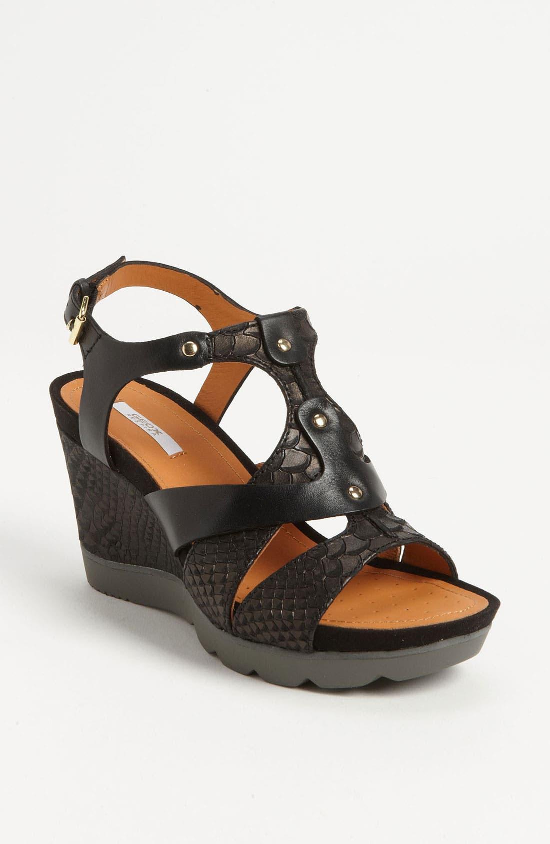 Alternate Image 1 Selected - Geox 'Sophie' Sandal (Online Only)