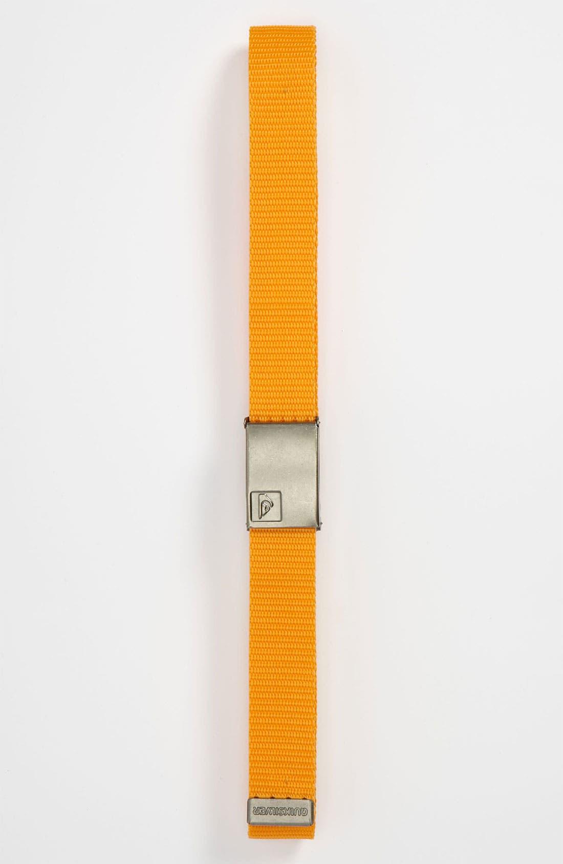 Main Image - Quiksilver 'Principle' Belt (Big Boys)
