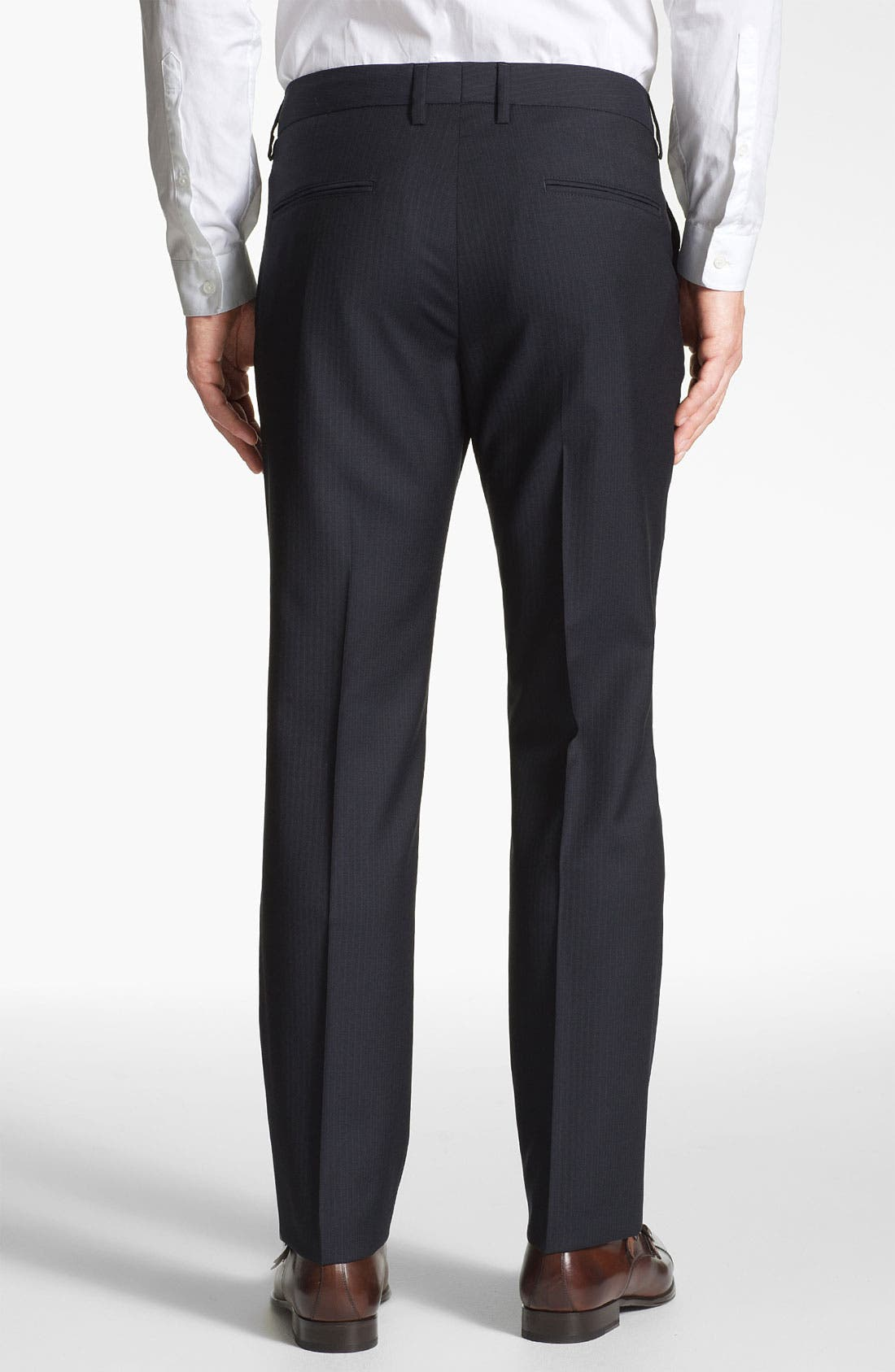 Alternate Image 2  - BOSS Black 'Crigan' Wool Pants