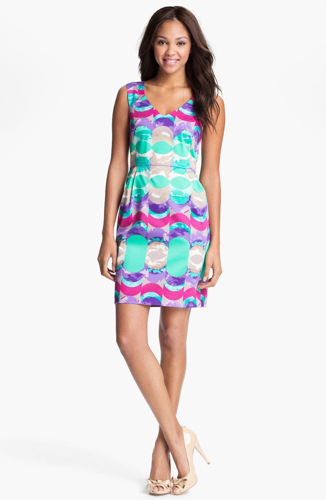 Alternate Image 1 Selected - Donna Morgan Print Sheath Dress