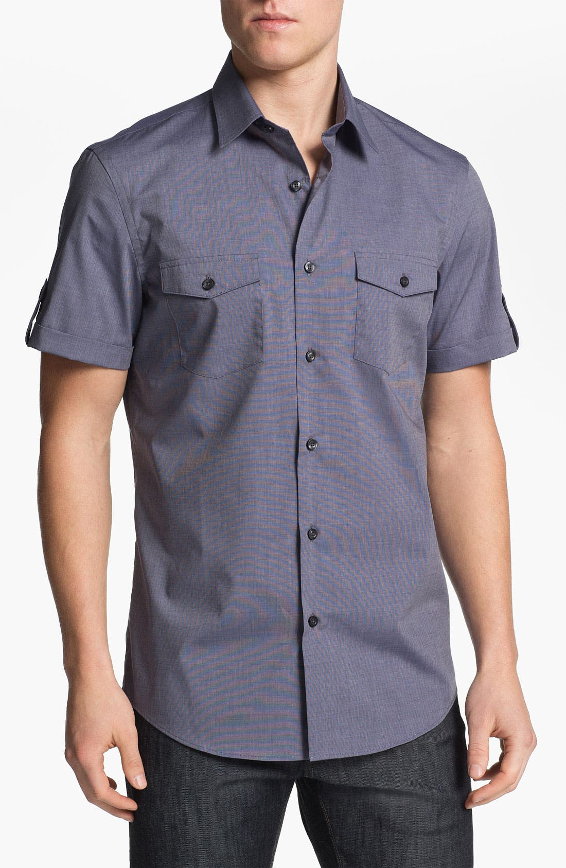 Alternate Image 1 Selected - Calibrate Short Sleeve Sport Shirt