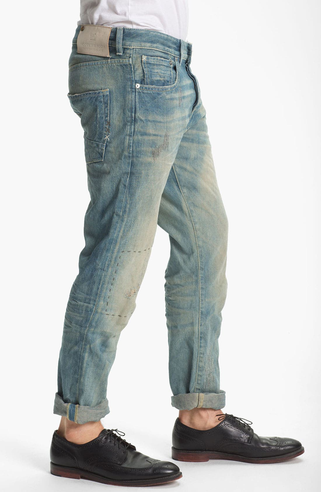 Alternate Image 3  - Scotch & Soda 'Ralston' Slim Straight Leg Jeans (Time Capsule)