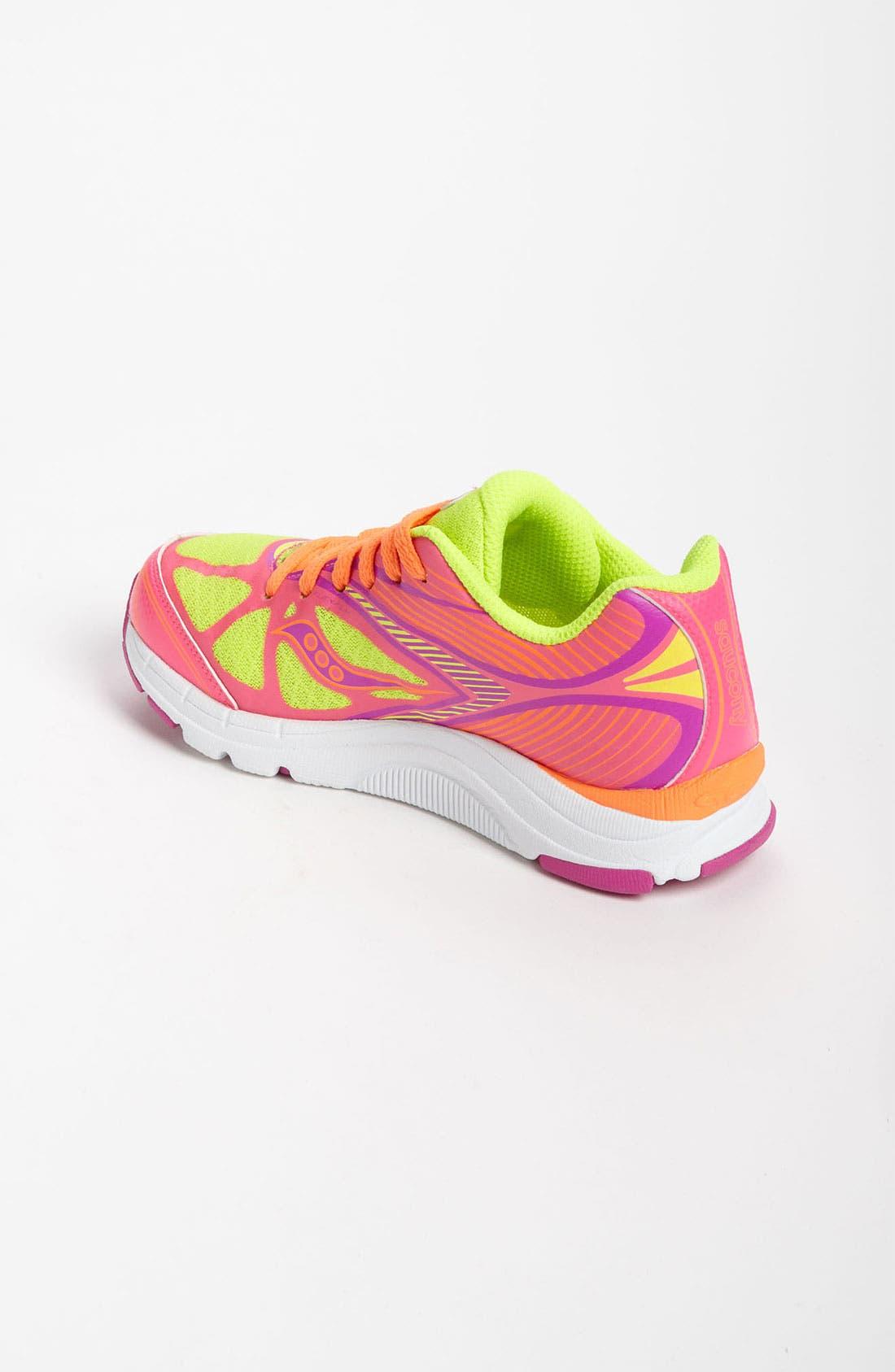 Alternate Image 2  - Saucony 'Kinvara' Athletic Shoe (Toddler, Little Kid & Big Kid) (Online Only)