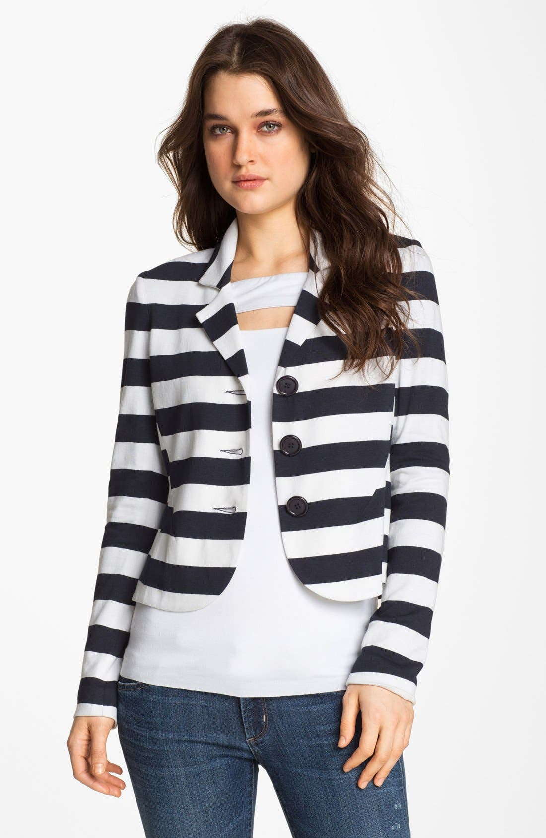 Main Image - Bailey 44 'Angelfish' Nautical Stripe Blazer
