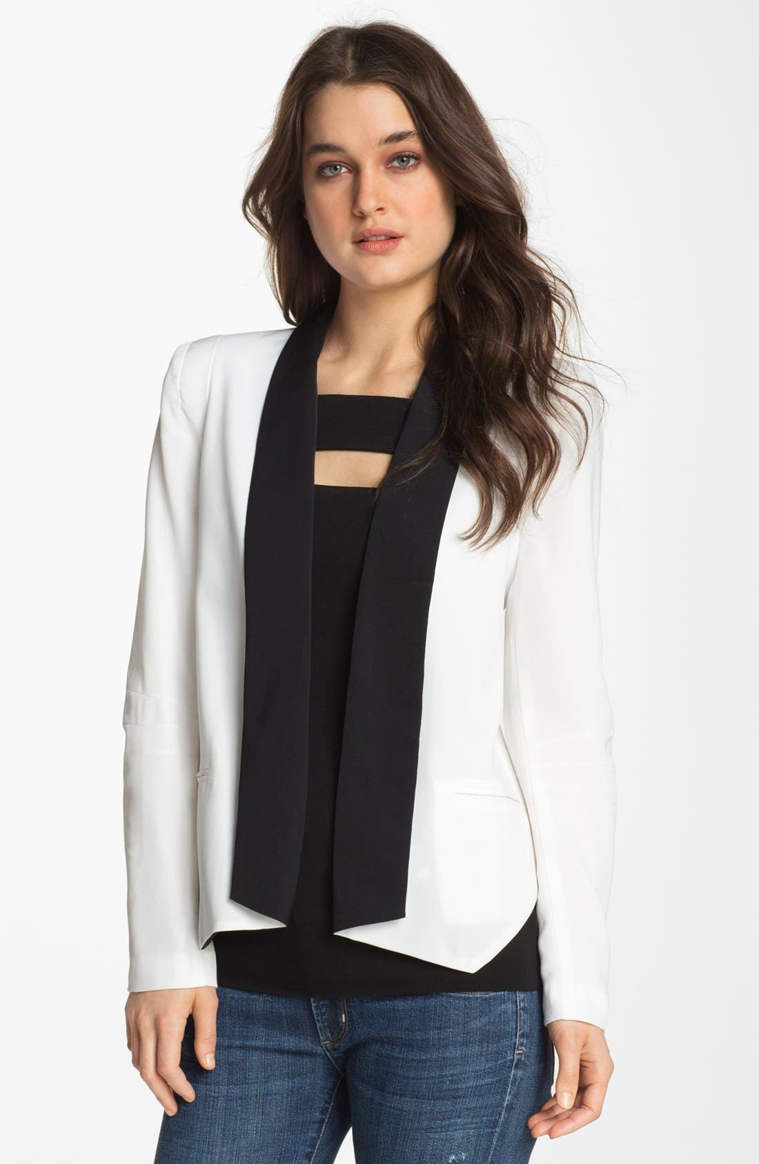 Alternate Image 1 Selected - Gibson Tuxedo Blazer