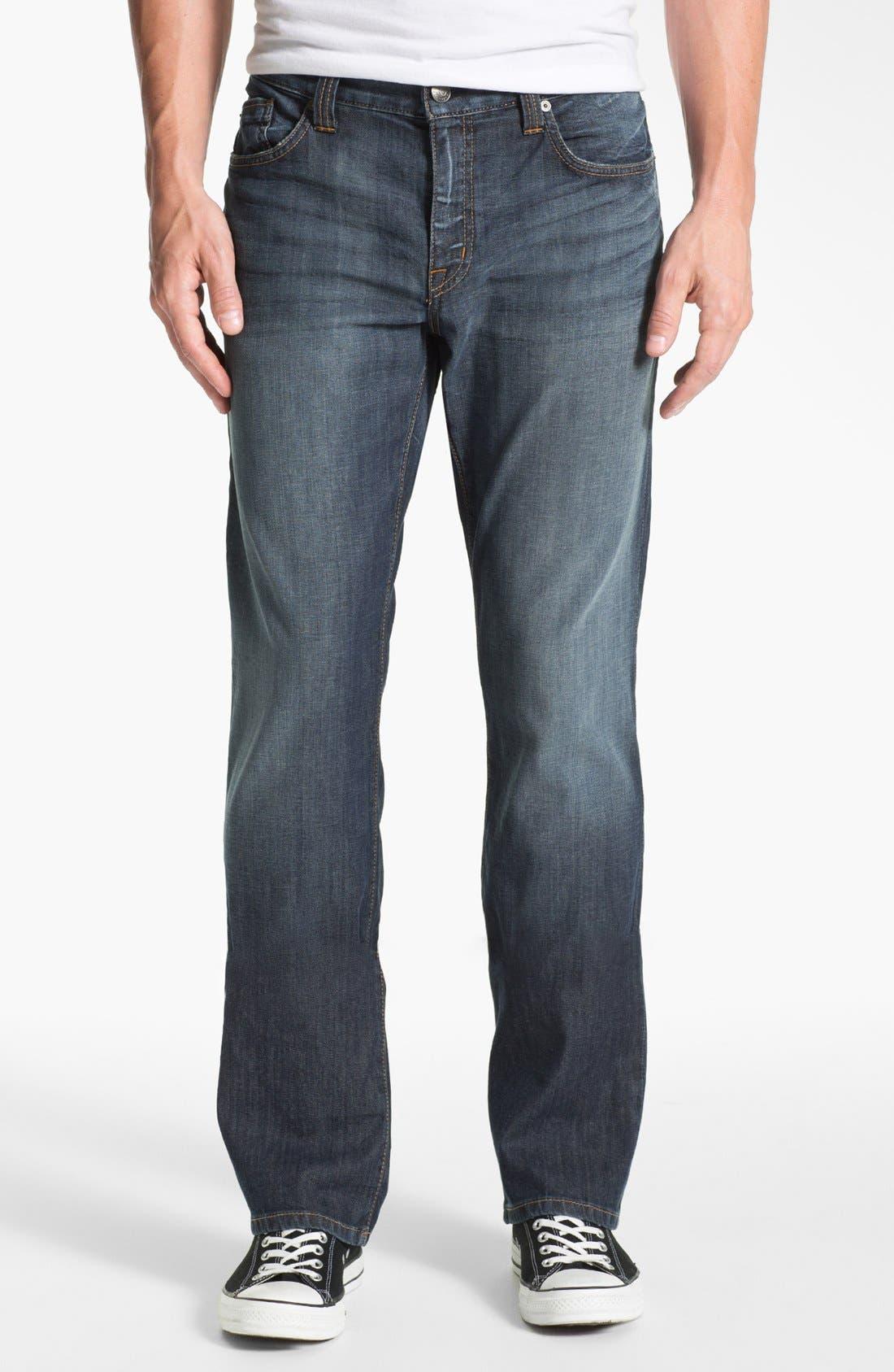Alternate Image 1 Selected - Fidelity Denim '5011' Straight Leg Jeans (Iona Vintage)