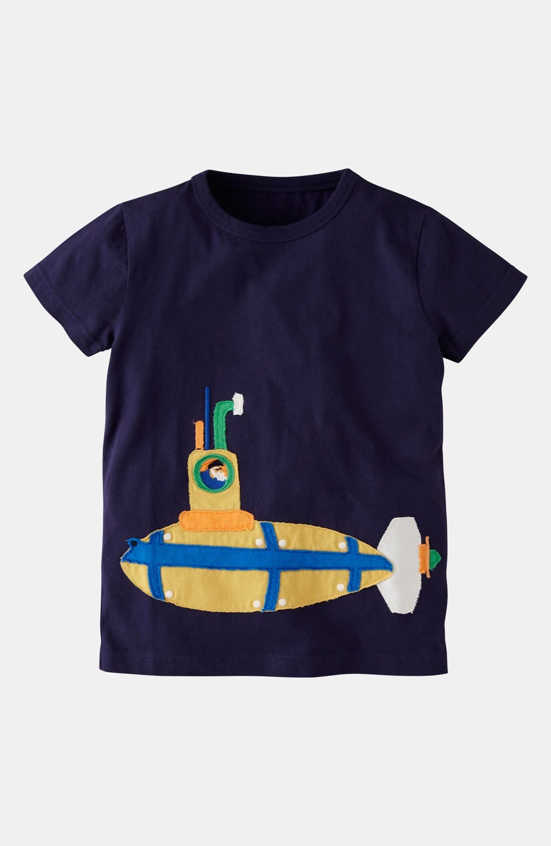 'Vehicle' T-Shirt,                             Main thumbnail 1, color,                             Navy/ Submarine