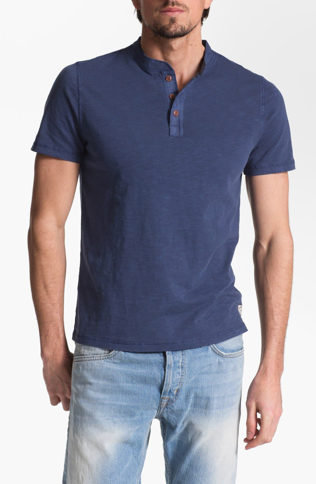 Main Image - Façonnable Tailored Denim Henley