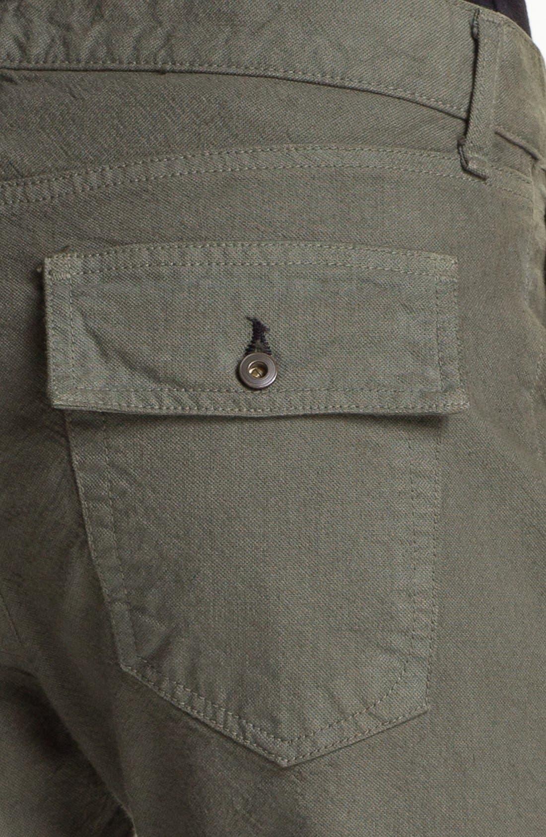 Alternate Image 6  - rag & bone/JEAN 'Brigade' Cargo Twill Pants
