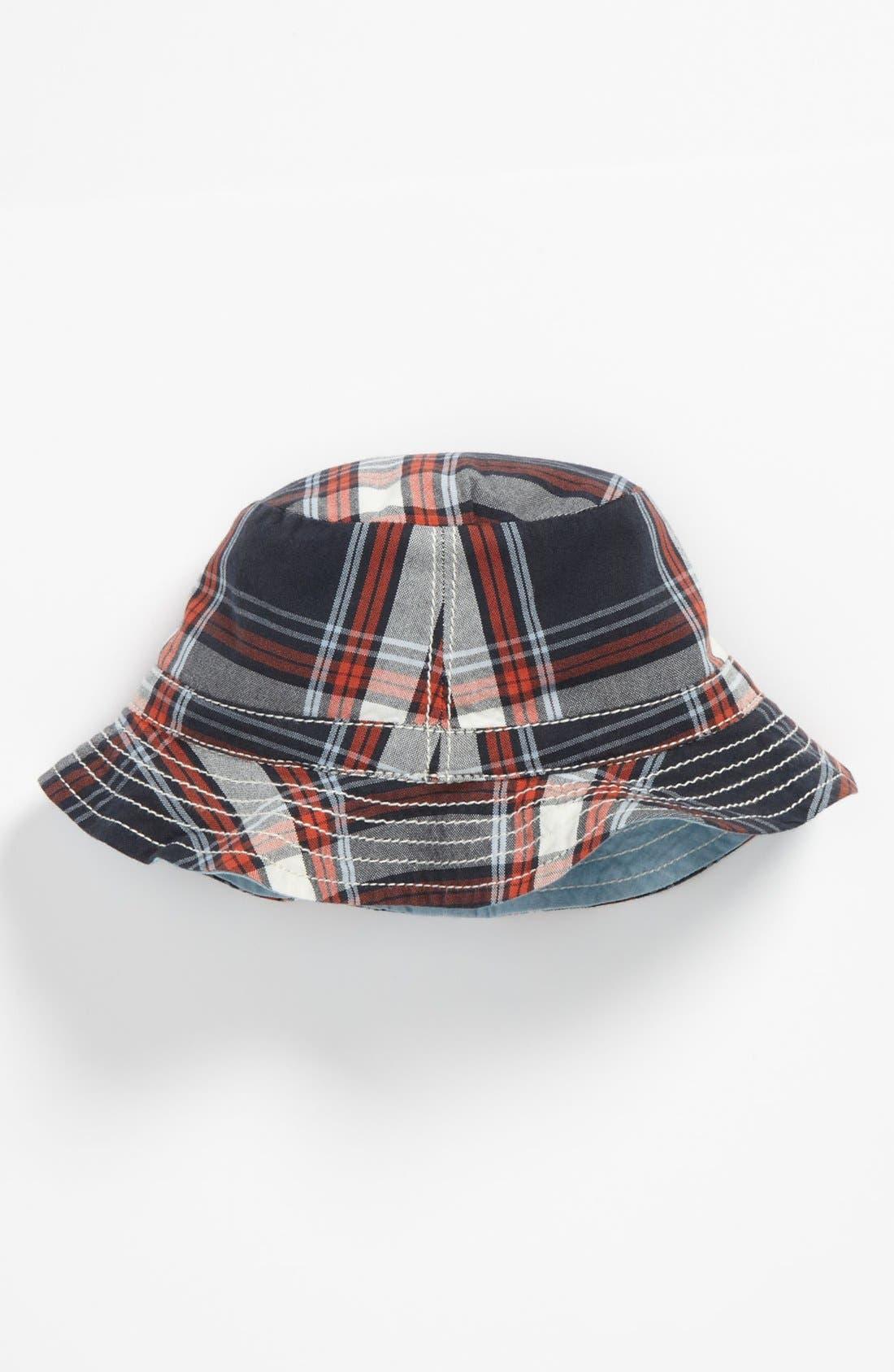 Main Image - Nordstrom Baby Woven Bucket Hat (Infant)
