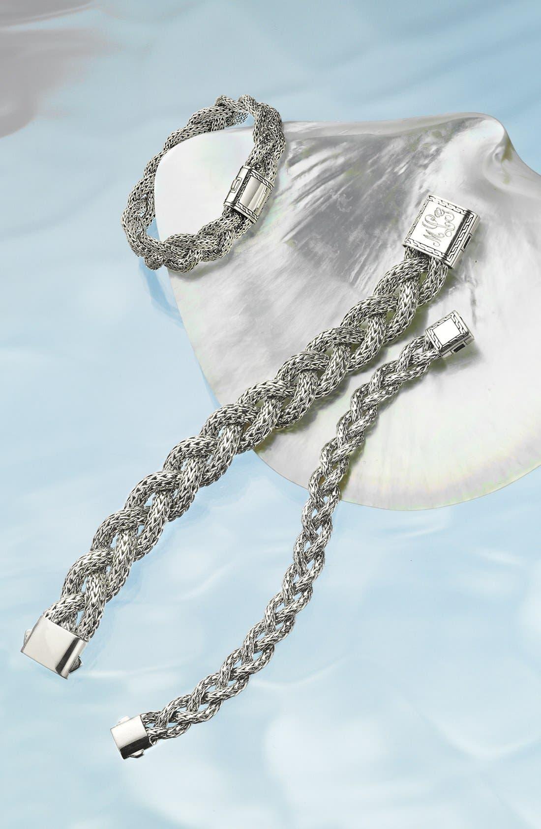 Alternate Image 2  - John Hardy 'Classic Chain' Small Braided Bracelet