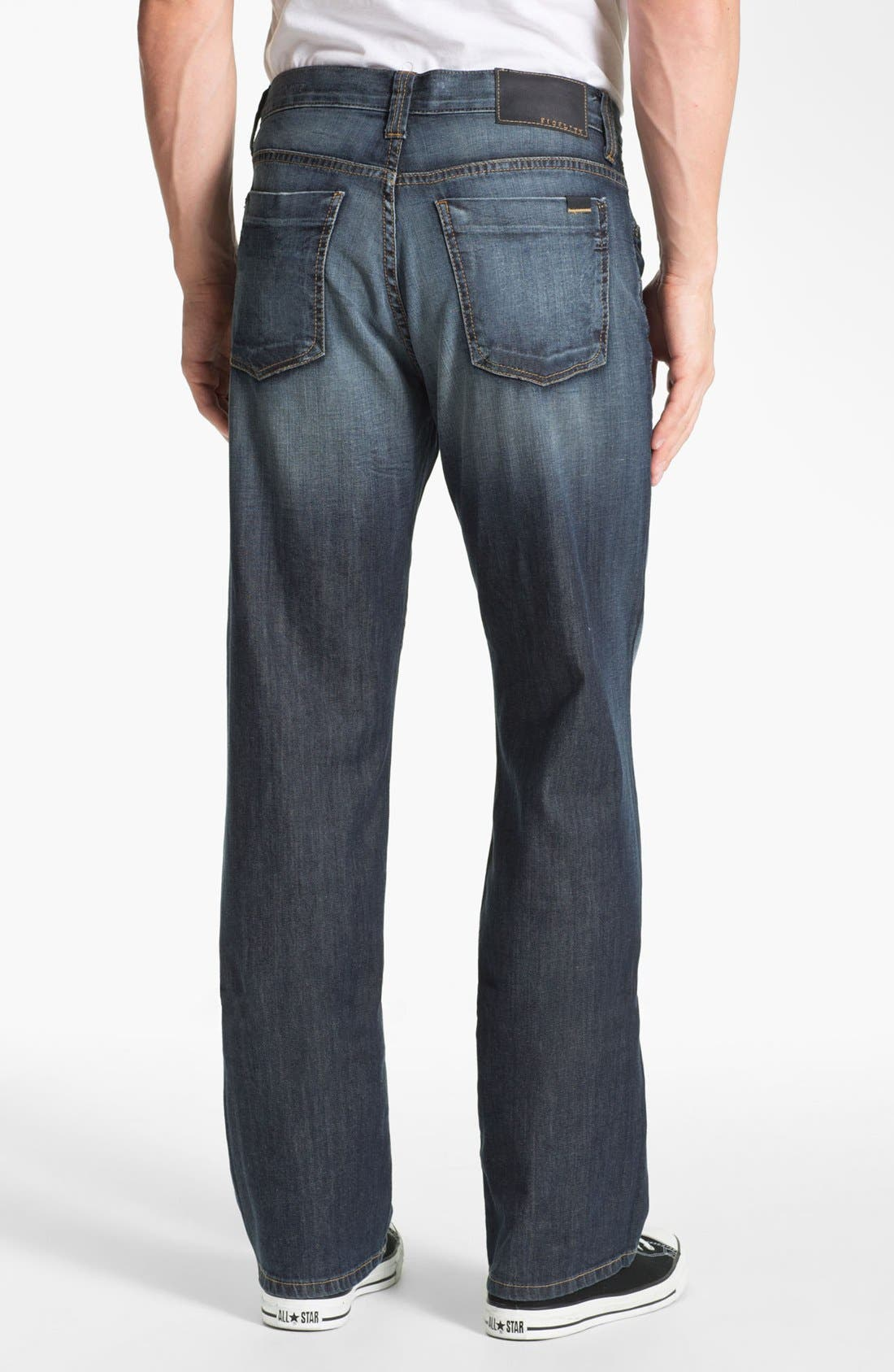 Alternate Image 2  - Fidelity Denim '5011' Straight Leg Jeans (Iona Vintage)