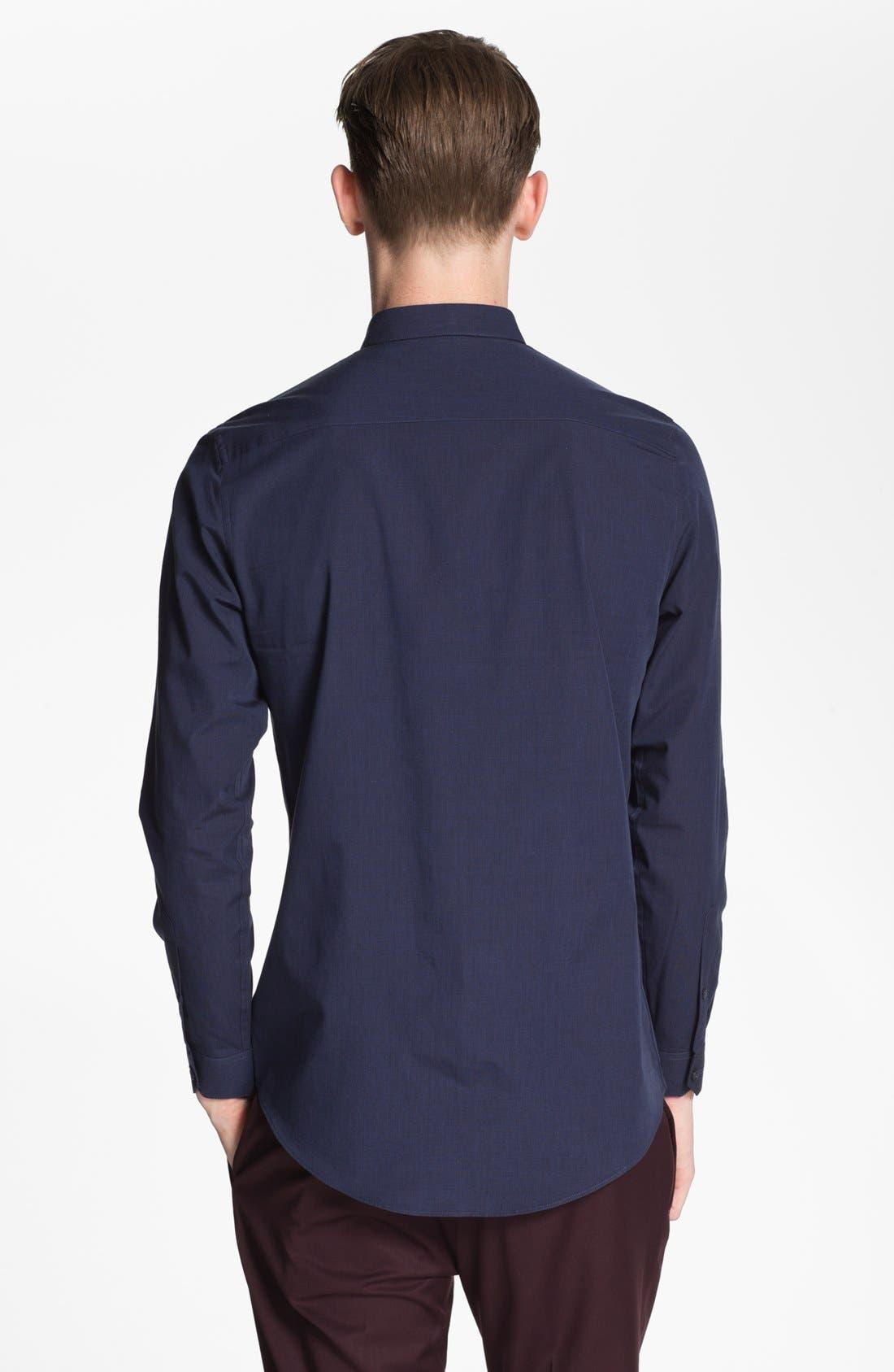 Alternate Image 2  - Topman Cotton Shirt
