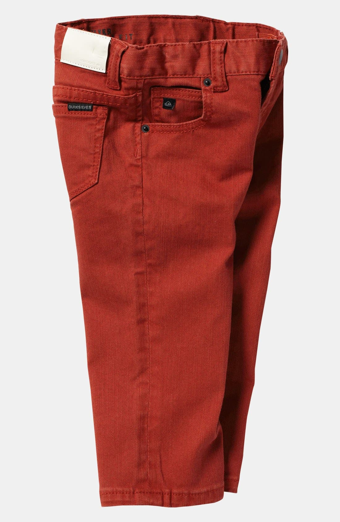 Alternate Image 3  - Quiksilver 'Distortion' Slim Straight Leg Jeans (Toddler)