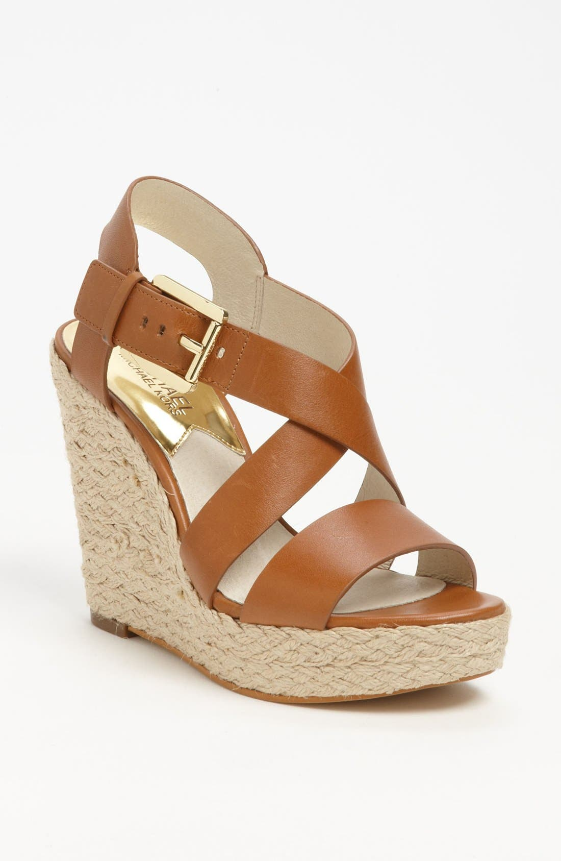 Alternate Image 1 Selected - MICHAEL Michael Kors 'Giovanna' Wedge Sandal