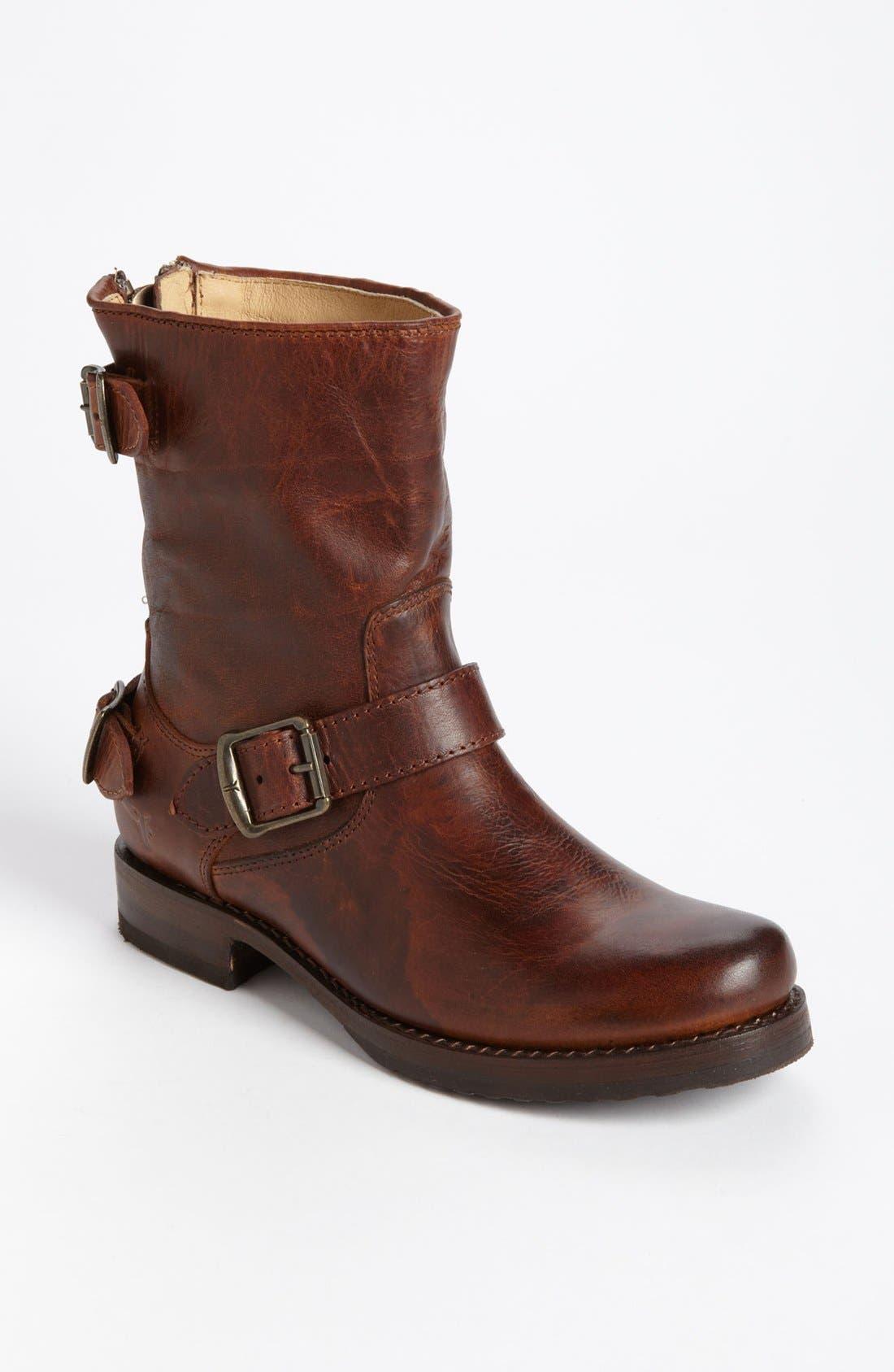 'Veronica' Back Zip Short Boot, ...