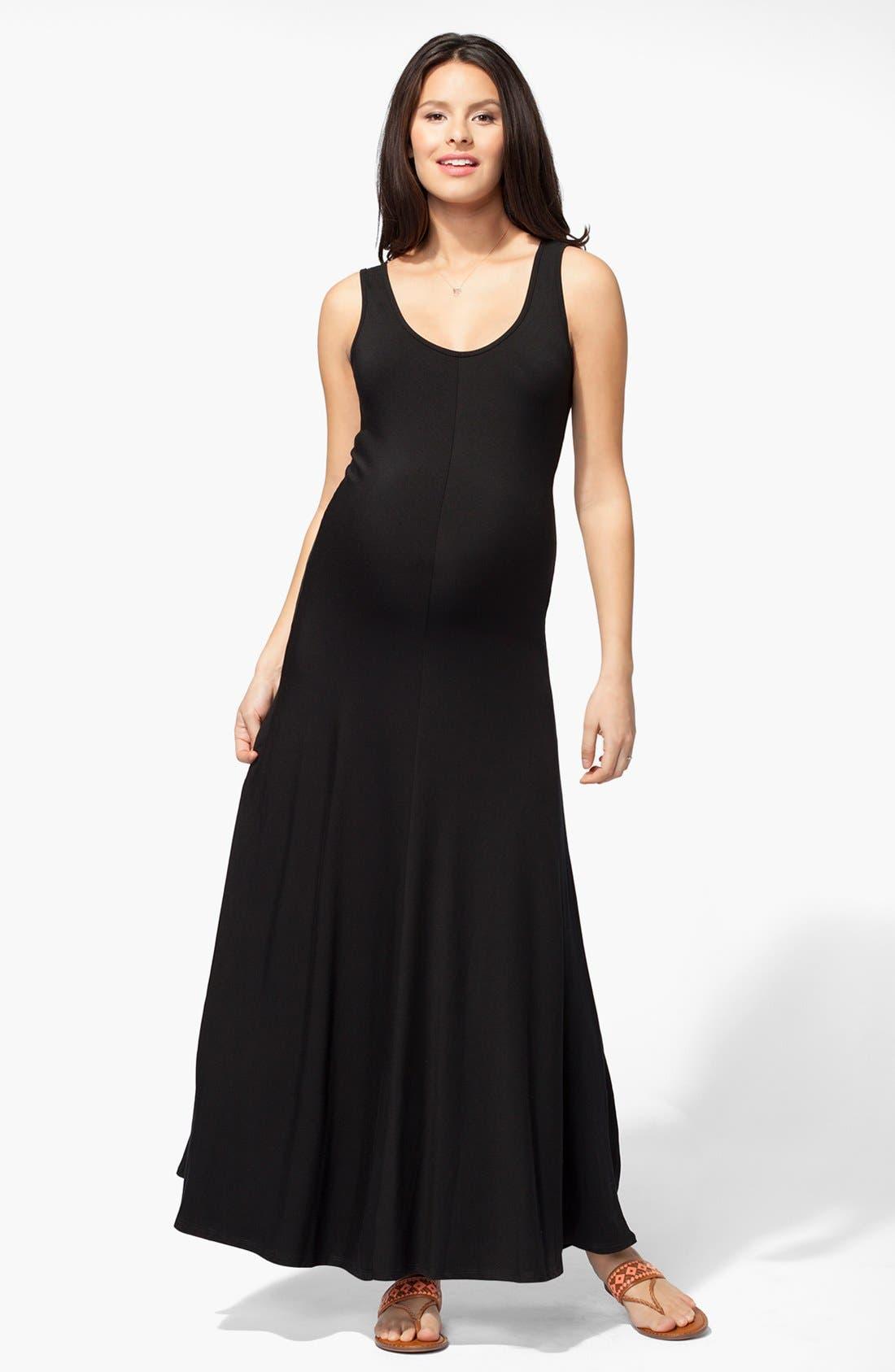 Alternate Image 1 Selected - Ingrid & Isabel® Tank Maternity Maxi Dress