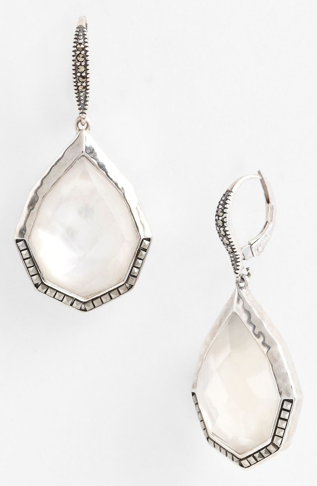 Alternate Image 1 Selected - Judith Jack 'Waterfall' Large Drop Earrings