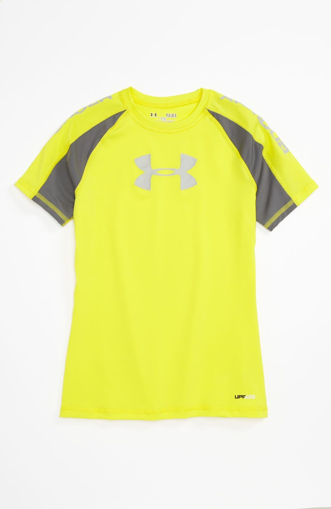 Main Image - Under Armour 'Ripping' T-Shirt (Big Boys)