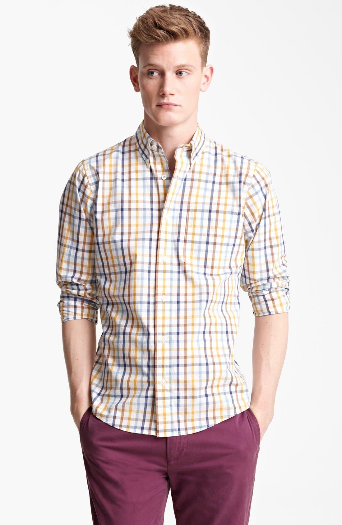 Alternate Image 1 Selected - Jack Spade 'Popson' Check Sport Shirt