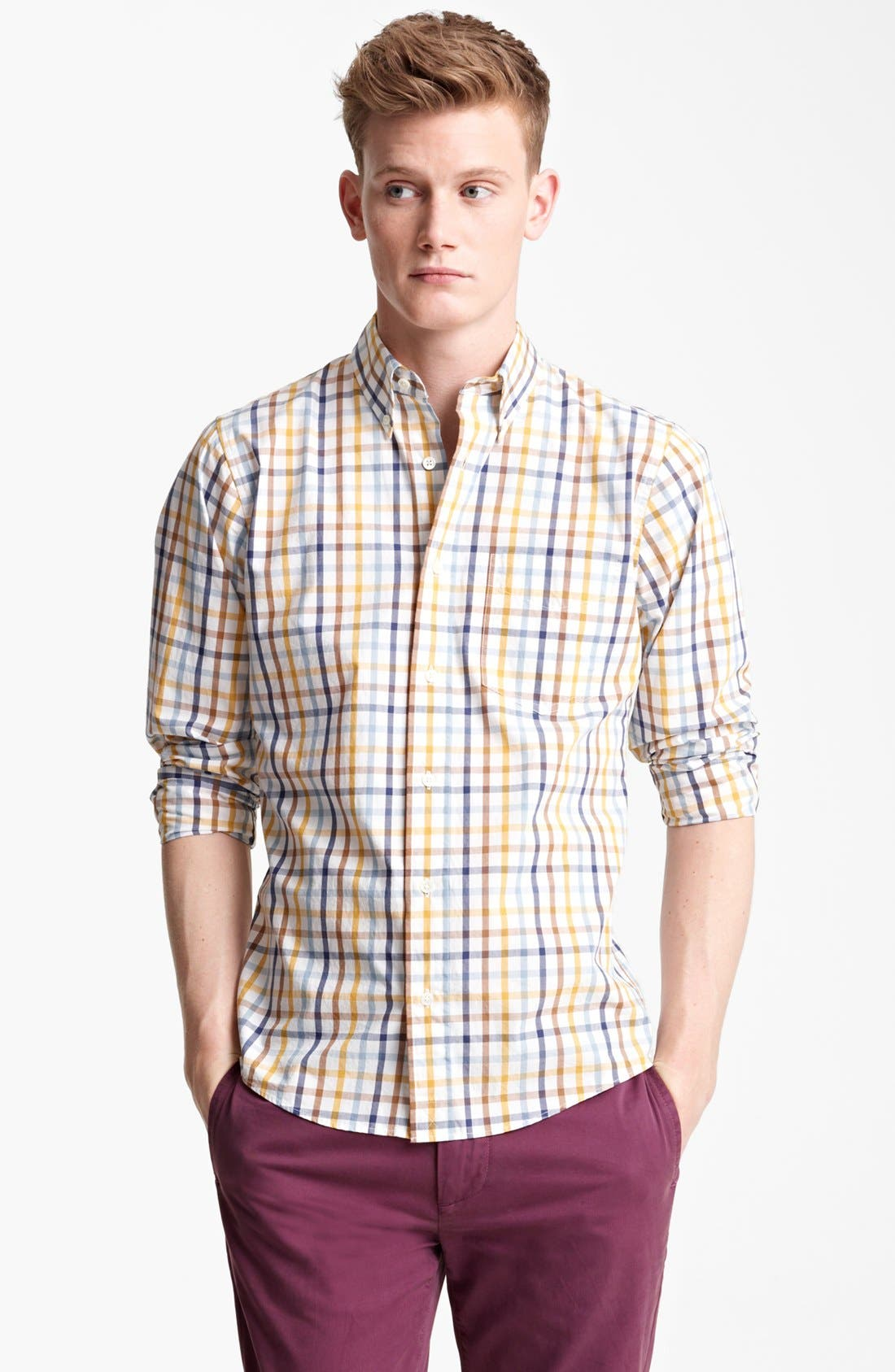 Main Image - Jack Spade 'Popson' Check Sport Shirt