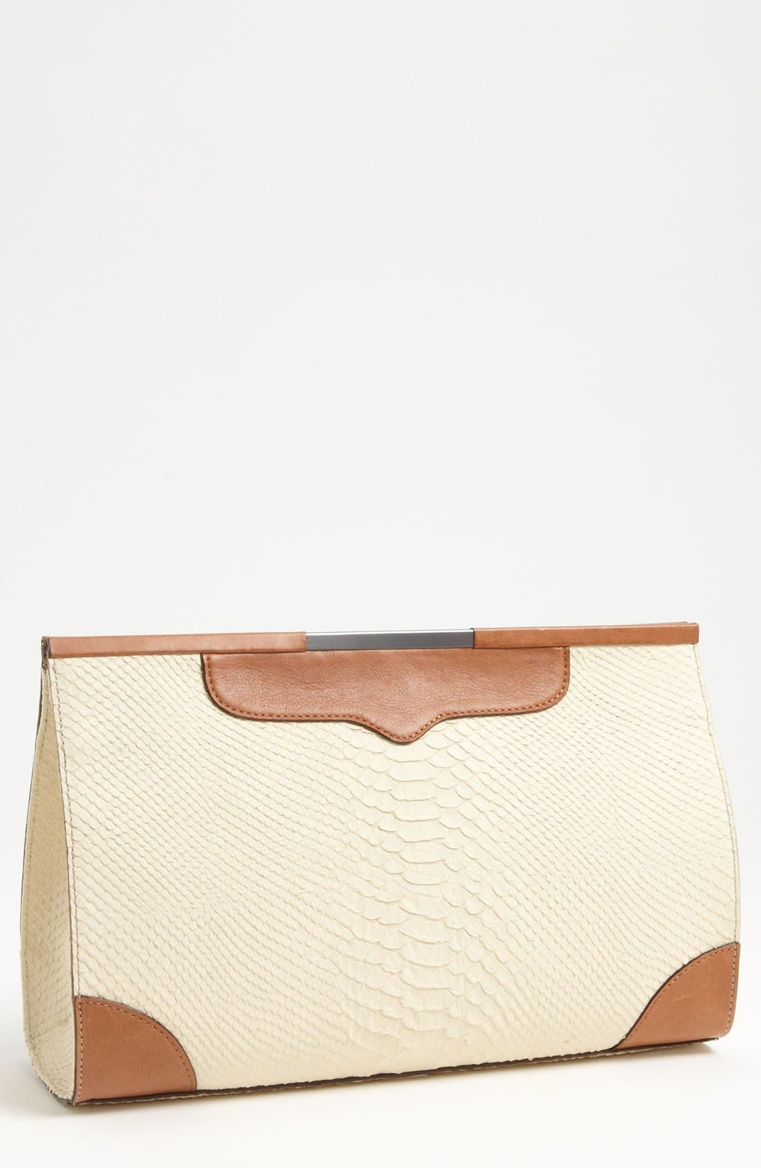 Alternate Image 1 Selected - Rebecca Minkoff 'Honey Bunch' Leather Clutch