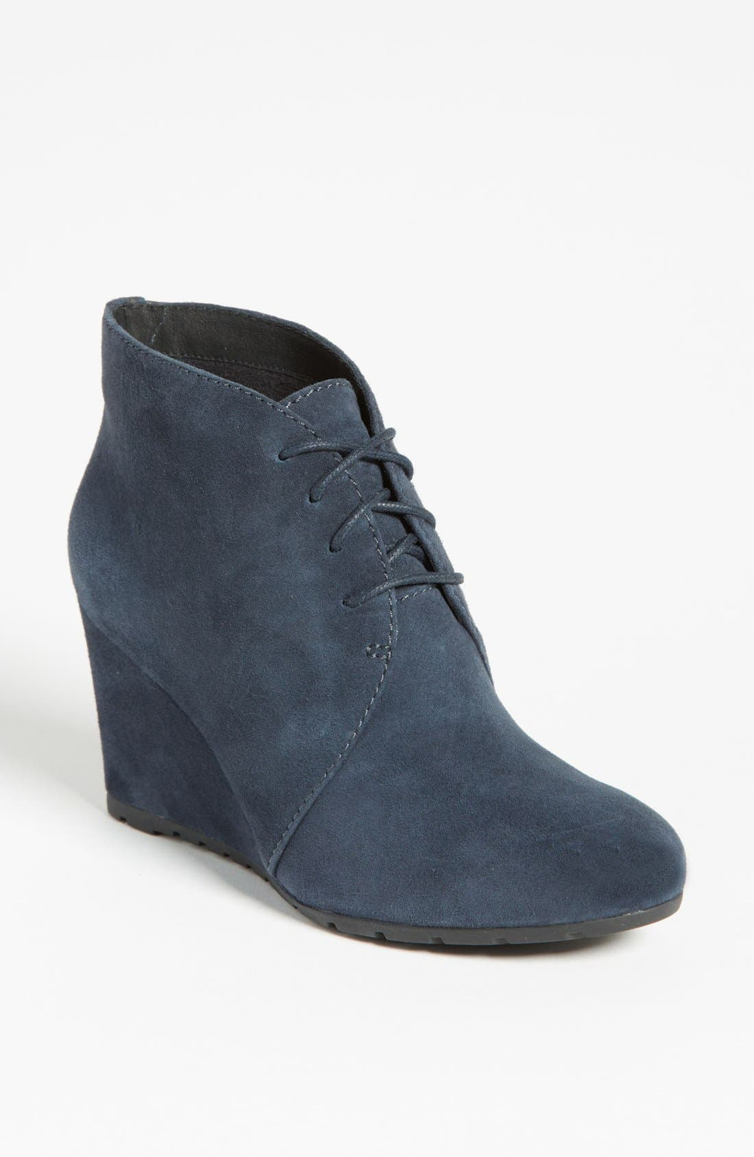 'Rosepoint Dew' Bootie,                         Main,                         color, Navy Suede