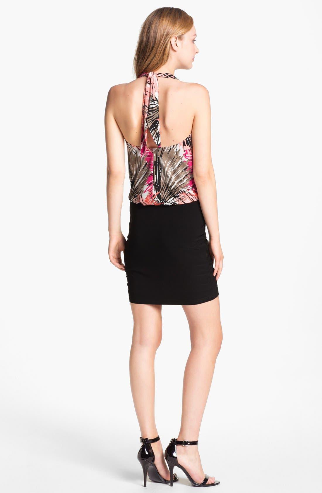 Alternate Image 2  - Abi Ferrin 'Fantasia' Sleeveless Blouson Dress