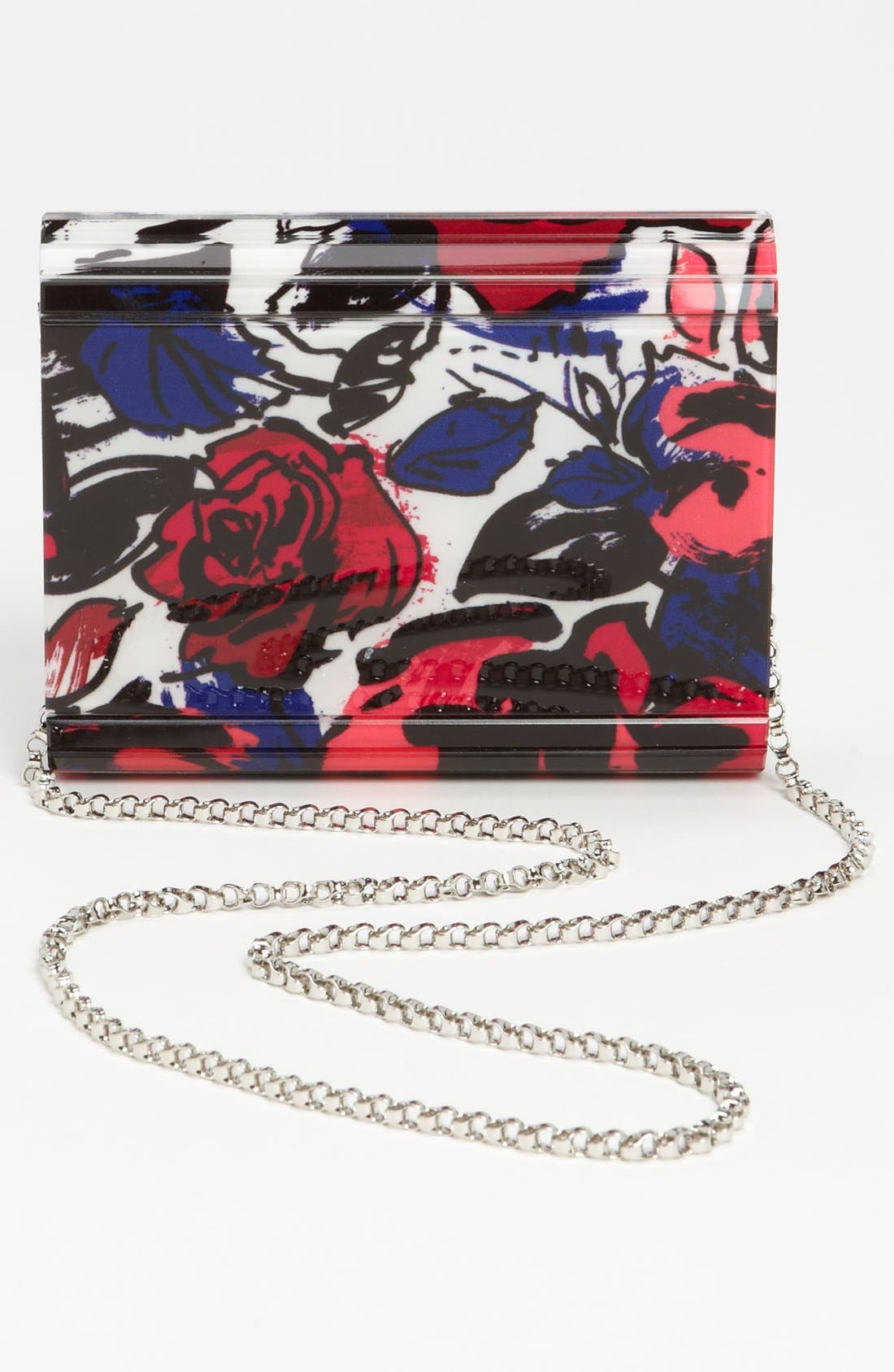 Alternate Image 4  - Jimmy Choo 'Candy' Floral Clutch