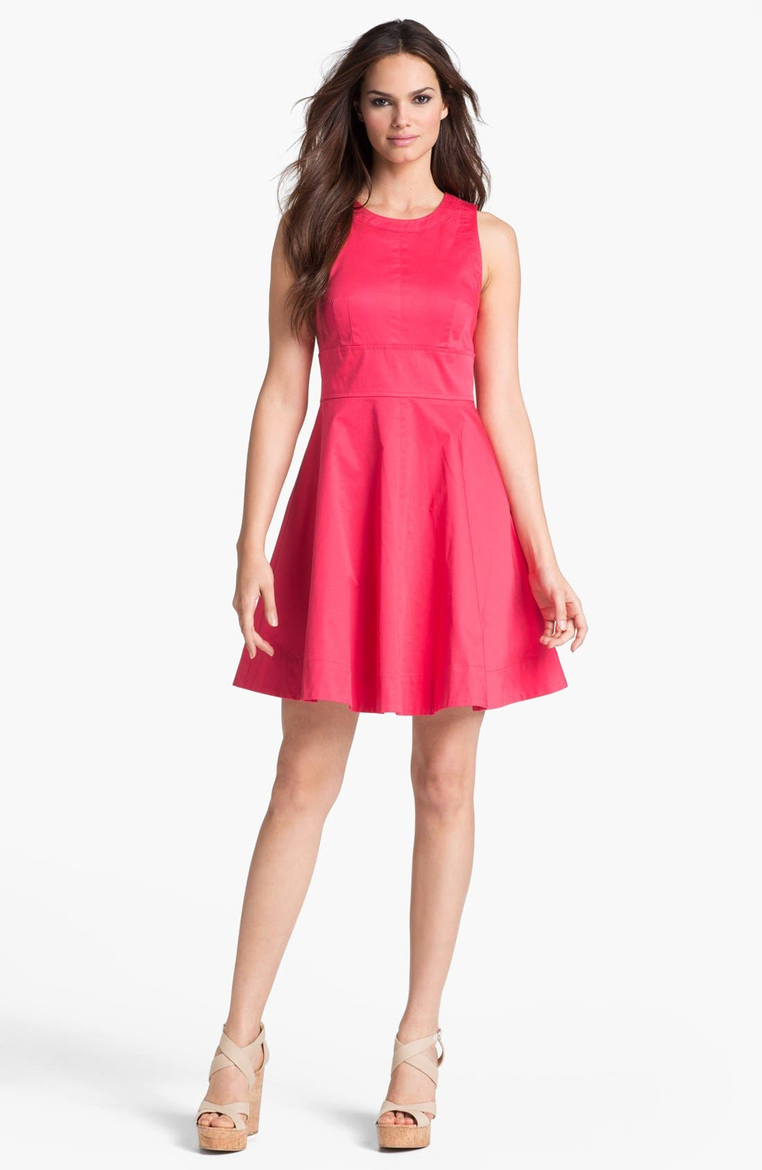 Alternate Image 1 Selected - French Connection Seamed Fit & Flare Dress