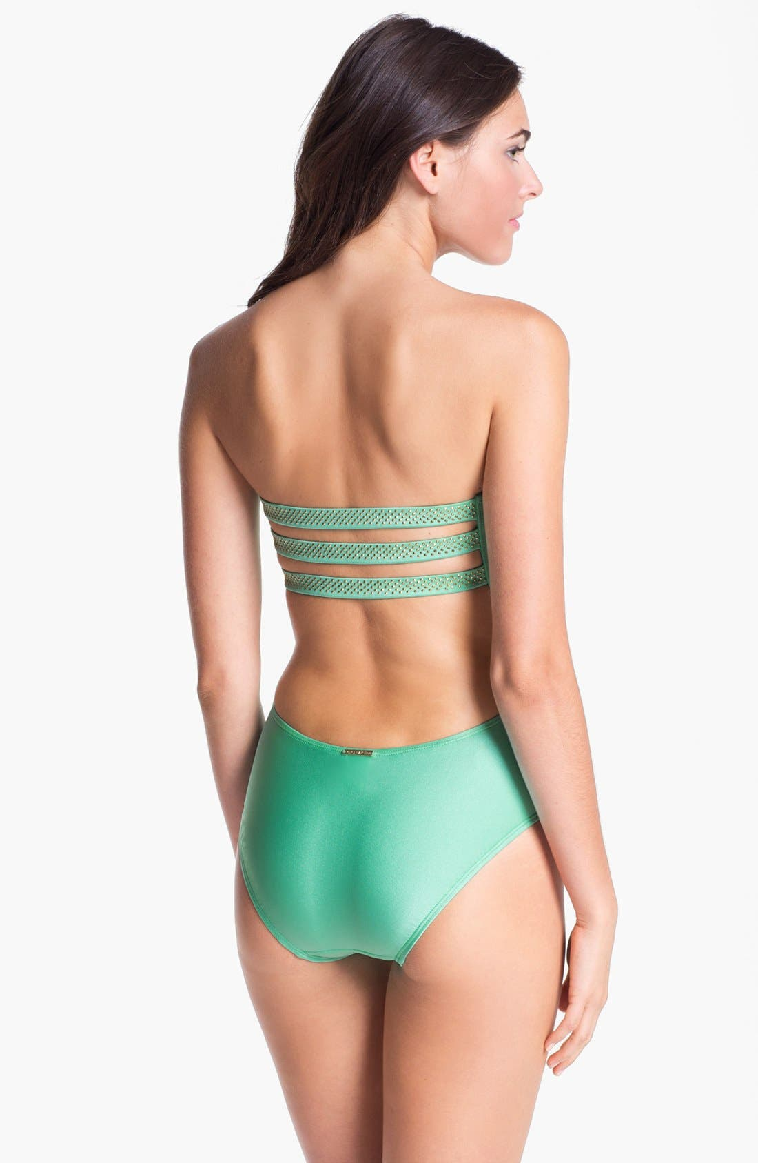 Alternate Image 2  - Vince Camuto Studded One Piece Swimsuit