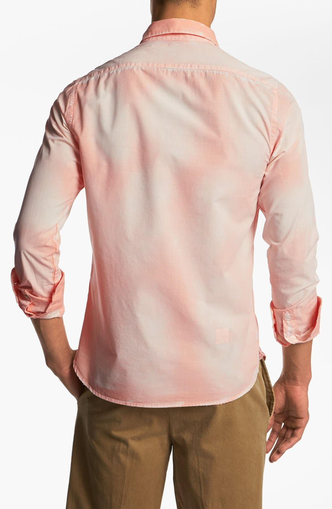 Alternate Image 2  - Scotch & Soda Bleached Woven Shirt