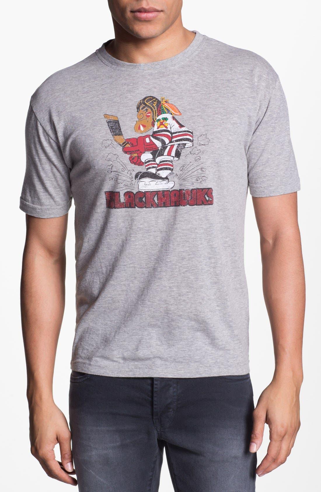Alternate Image 1 Selected - Red Jacket 'Blackhawks - Brass Tack' T-Shirt