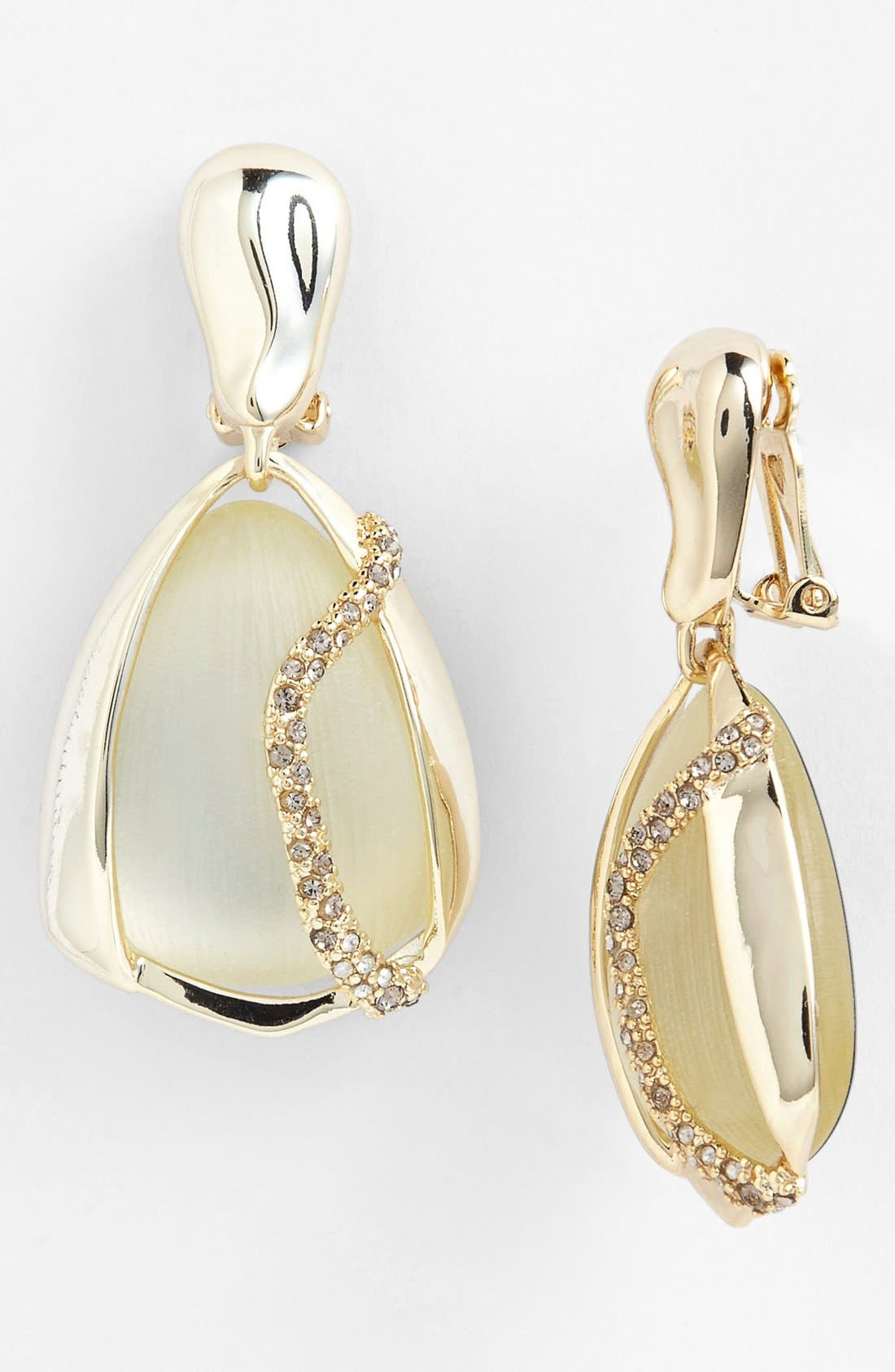 Alternate Image 1 Selected - Alexis Bittar 'Lucite® - Mod' Clip Drop Earrings